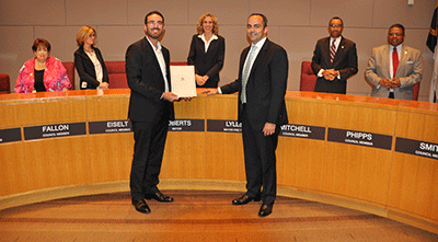 Charlotte City Council Proclaims October 'Driven Brands Car Care Month'