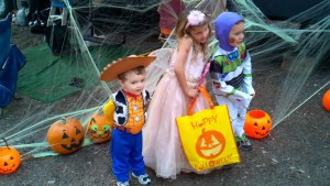 Children Trick or treating