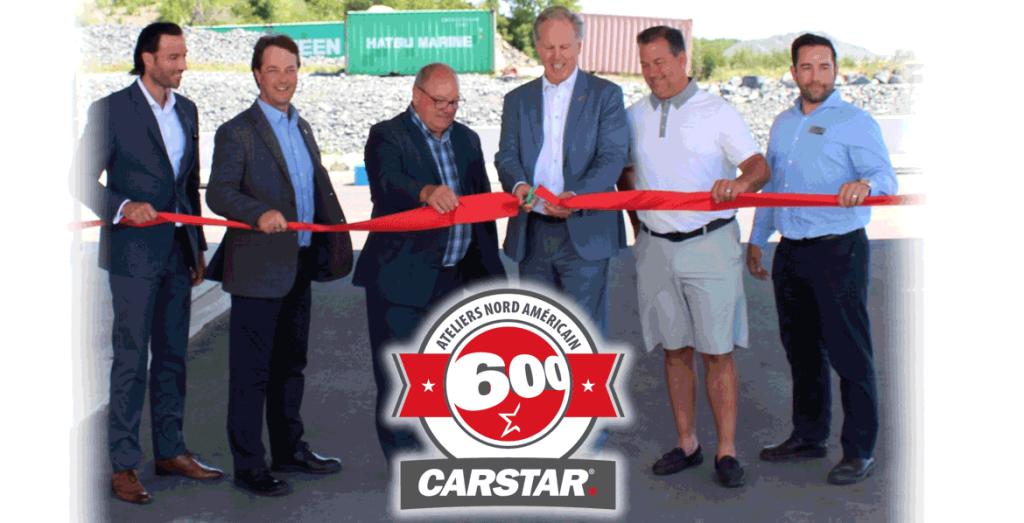 CARSTAR atteint un moment historique avec l'ouverture de son 600e centre de carrosserie en Amérique du Nord