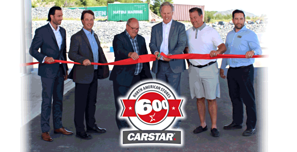 CARSTAR Hits Historic Moment by Launching its 600th North American Collision Repair Facility