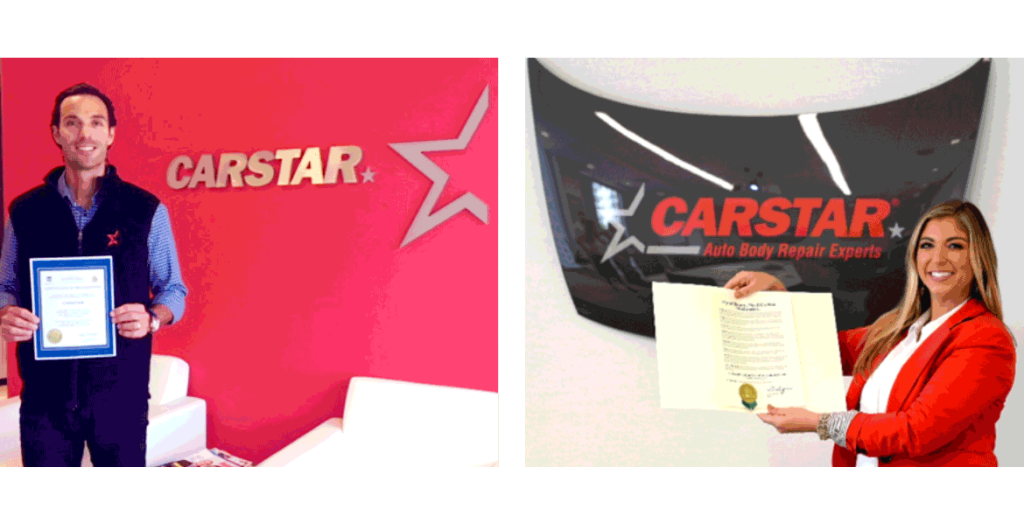 CARSTAR Recognized by Charlotte, NC, and Hamilton, ON, Mayors for Support for the Fight against Cystic Fibrosis