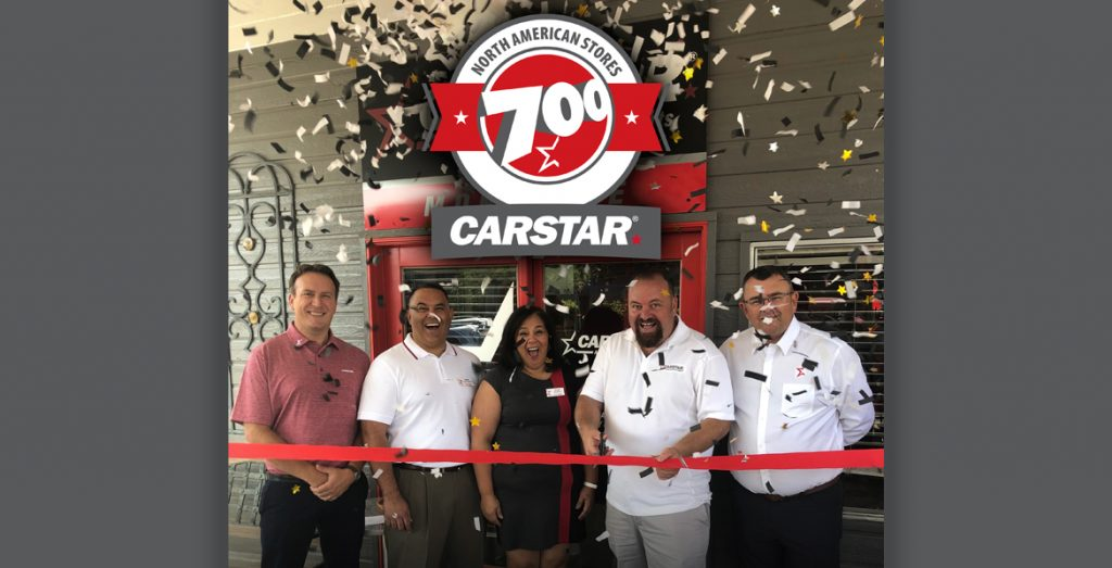 CARSTAR Reaches New Milestone Moment by Launching its 700th North American Collision Repair Facility