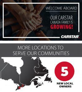 CARSTAR Kicks Off The Fall Season With Five New Facilities