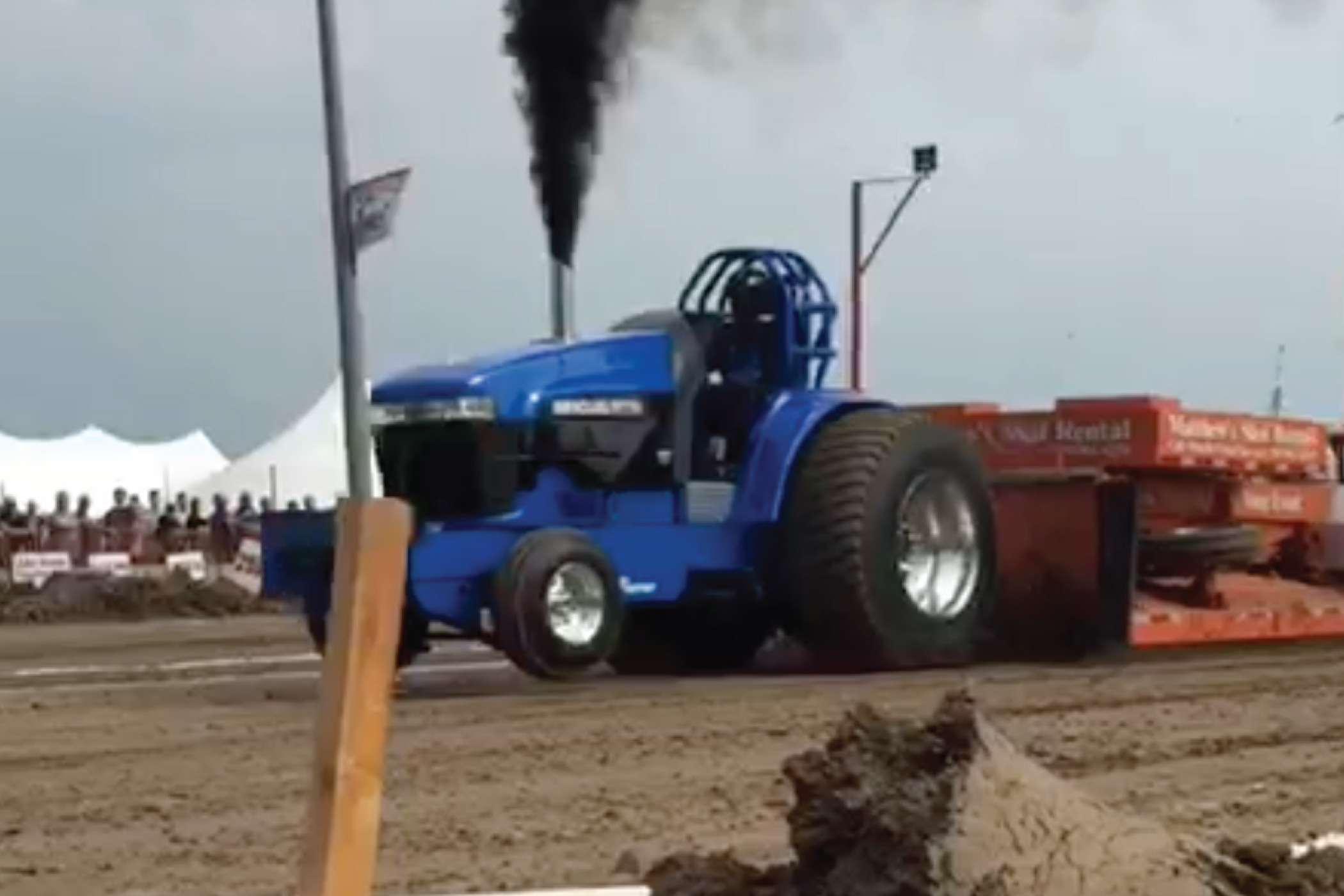 Florence Mill Sponsorship Tractor Pull
