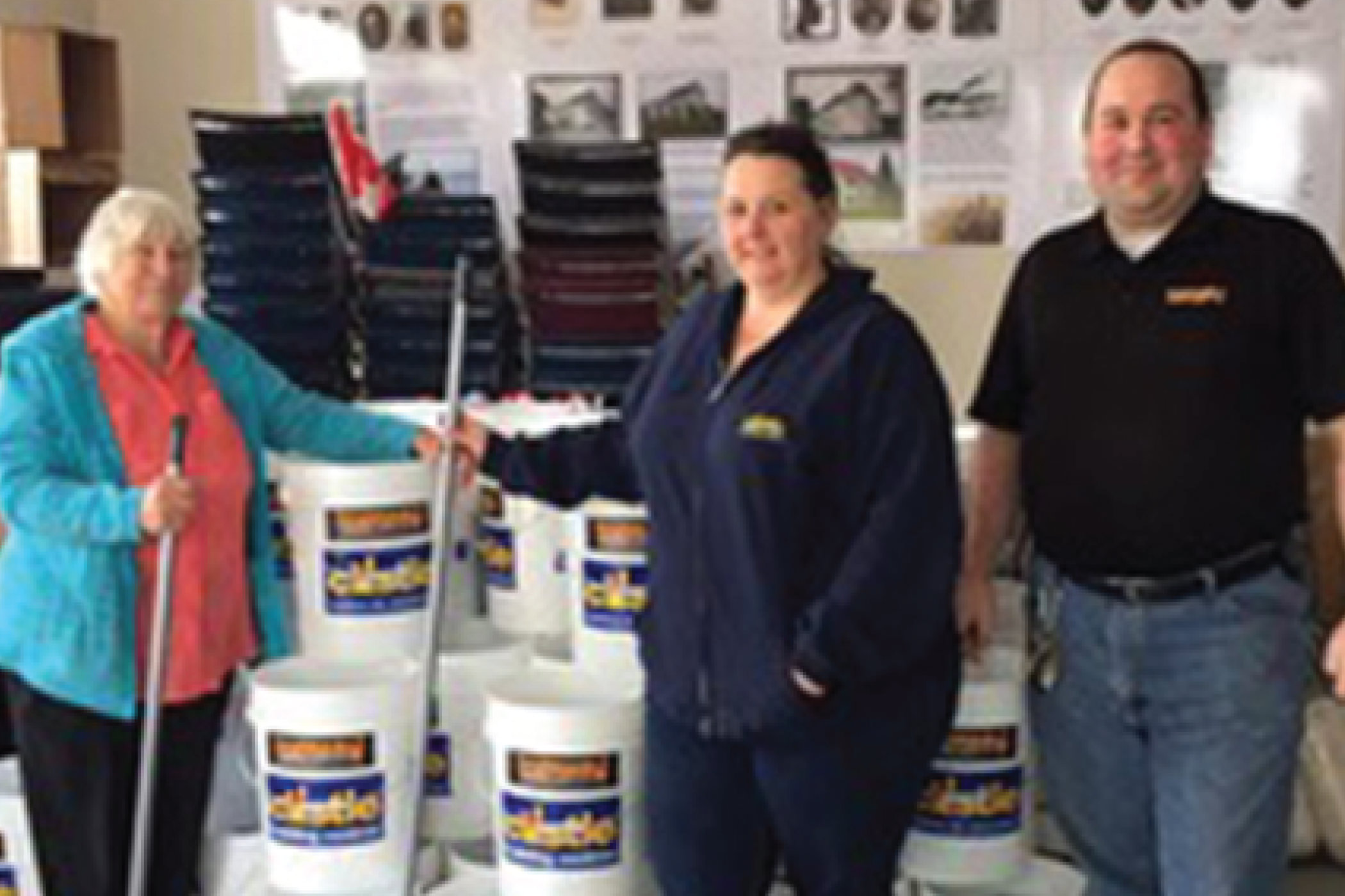 Topmar helps New Brunswick Flood Victims