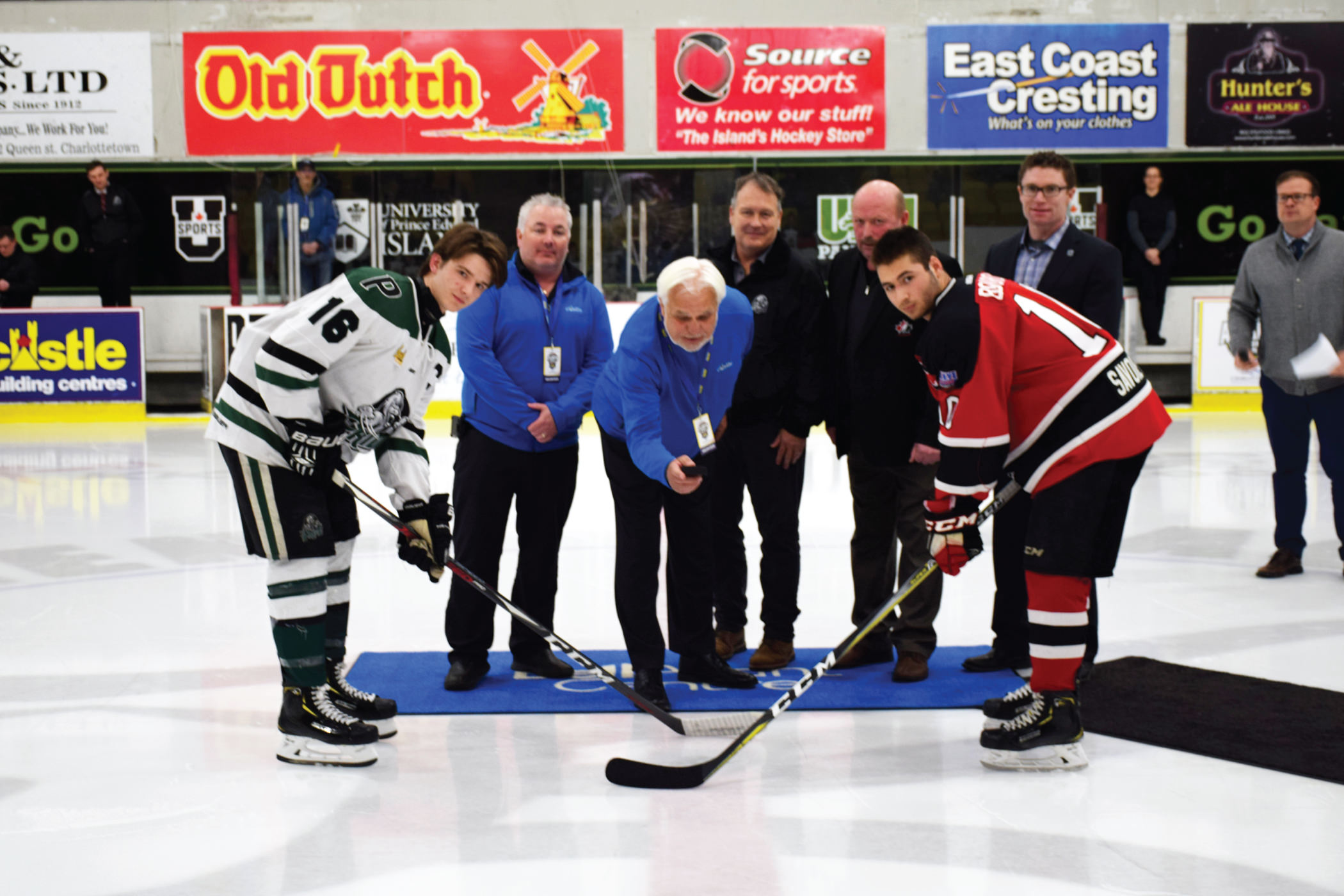 The Atlantic Hockey Championships last month in Charlottetown, PEI.