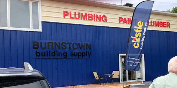 Grand Opening Burnstown Building Supply