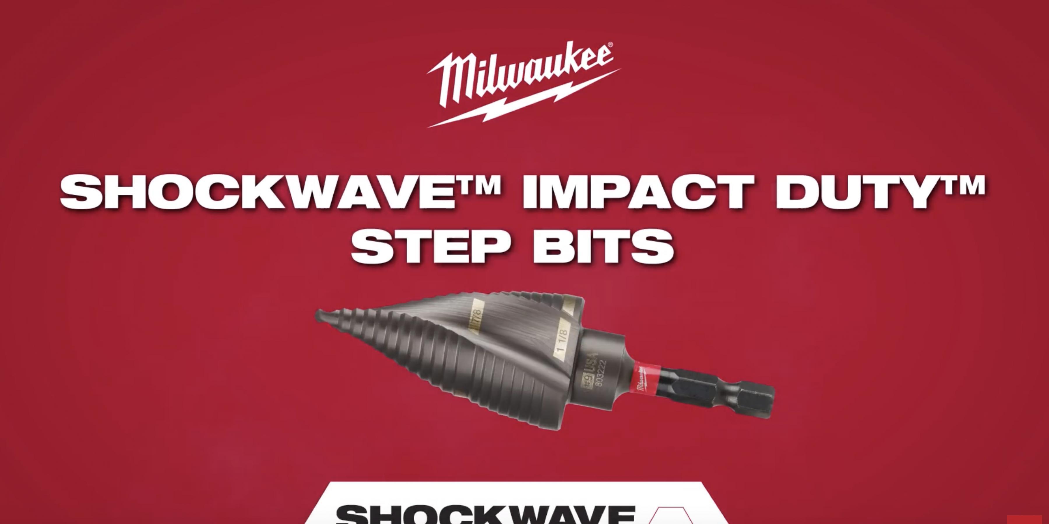 Milwaukee® Shockwave™ Impact Duty™ Step Bits
