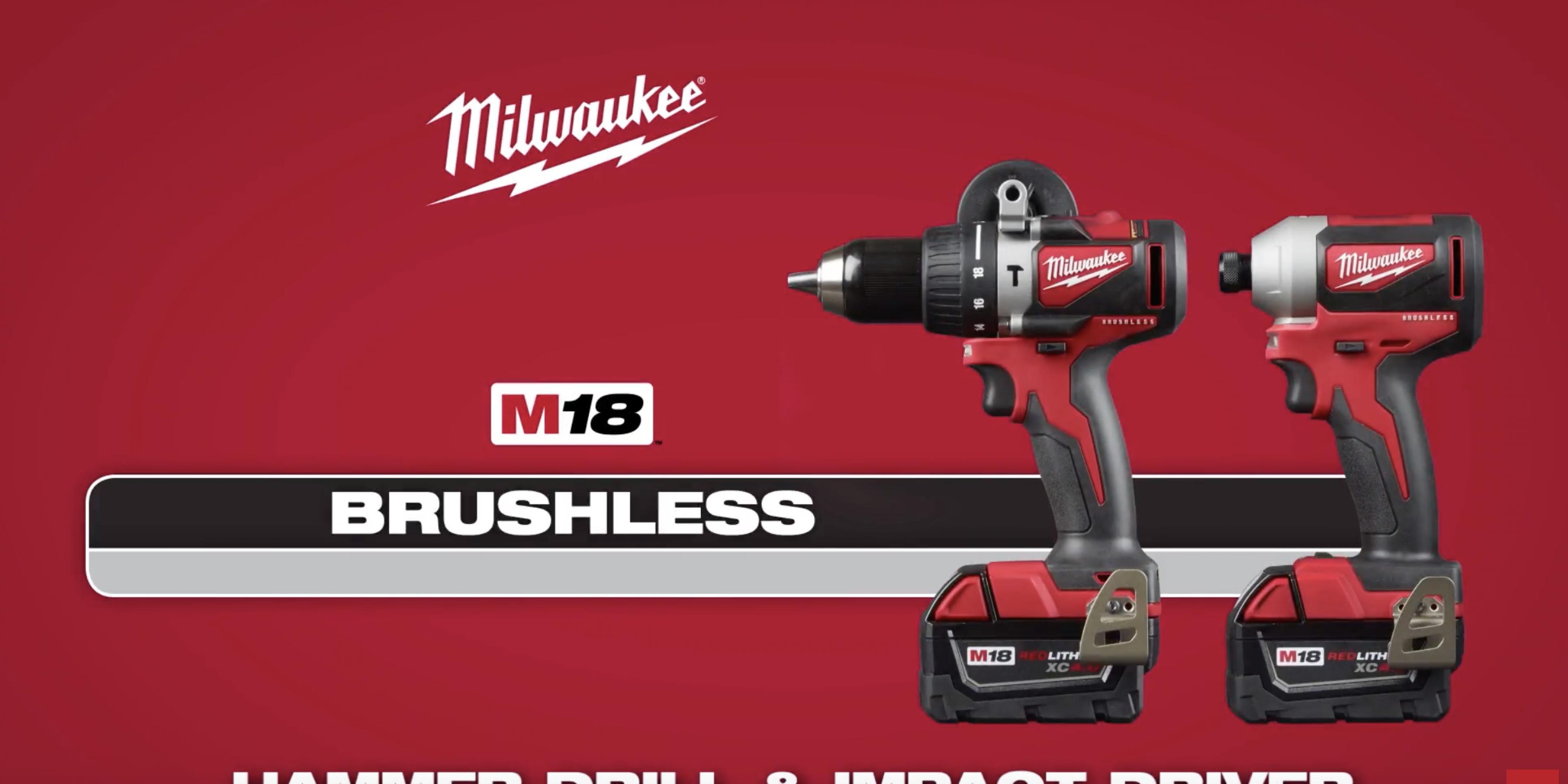 Milwaukee® M18™ Brushless Hammer Drill and Impact Driver