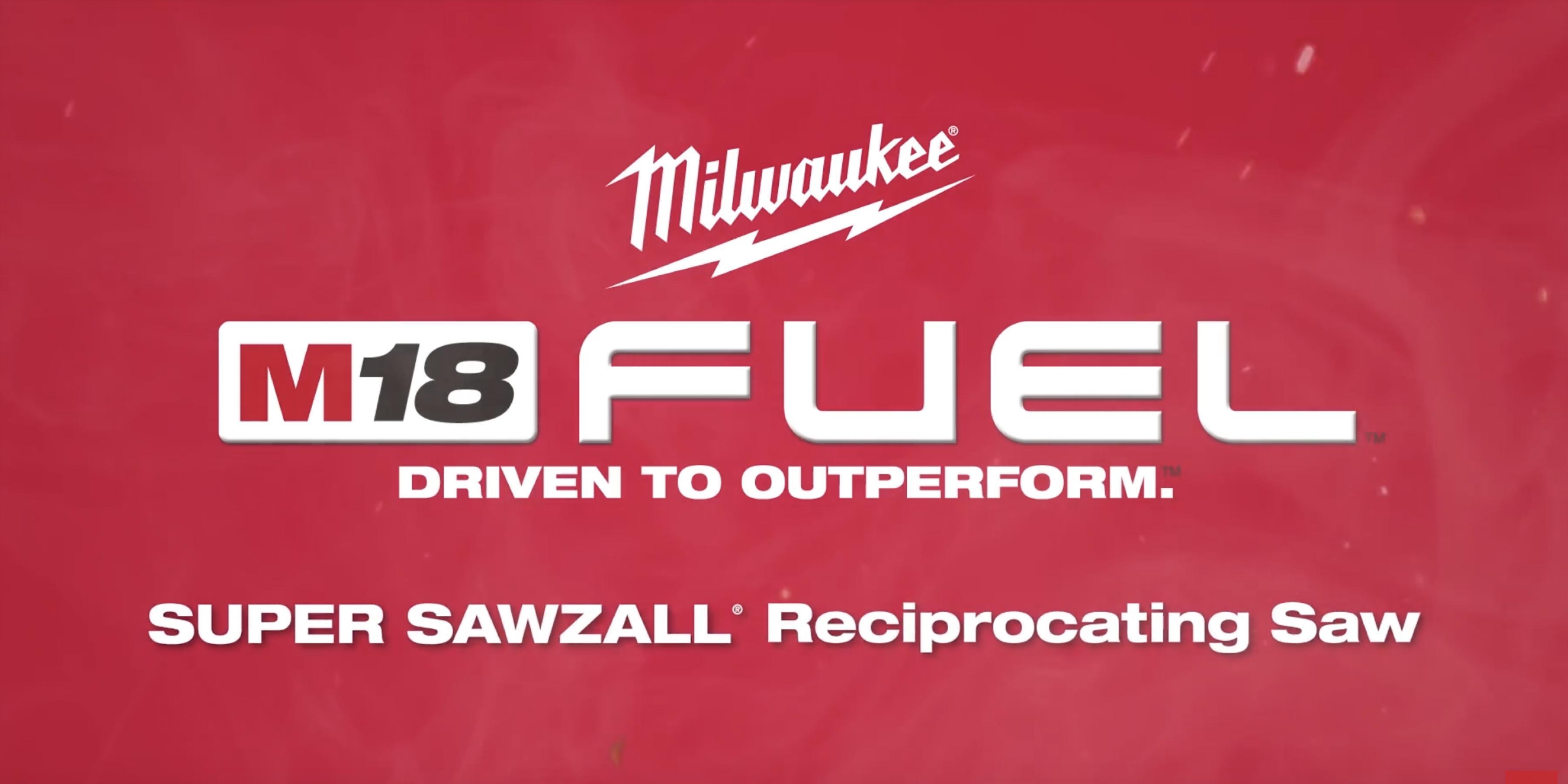 Milwaukee® M18 FUEL™ Super Sawzall® Recip Saw