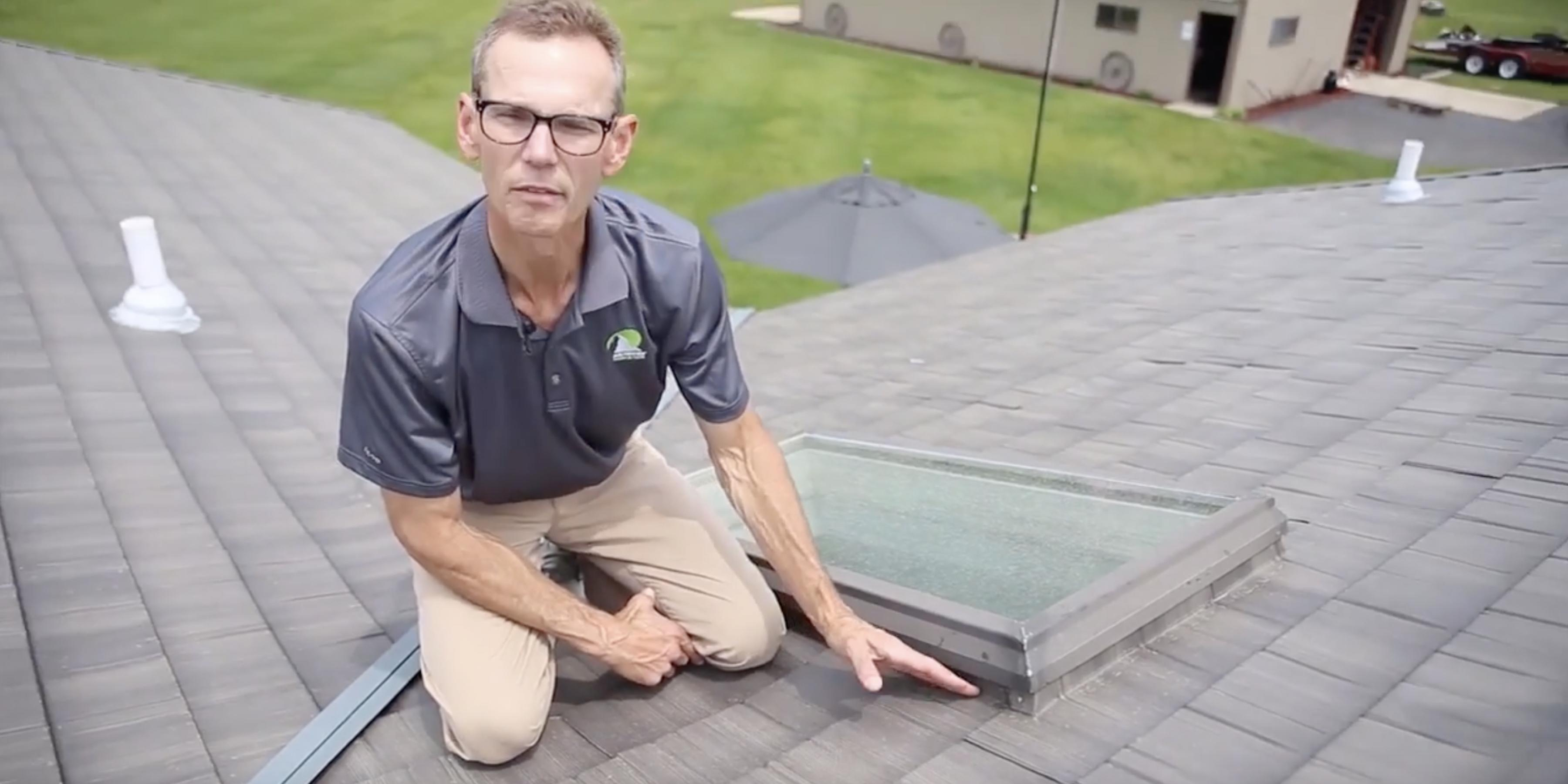 Slate & Shake Skylight Installation Matterhorn Metal Roofing