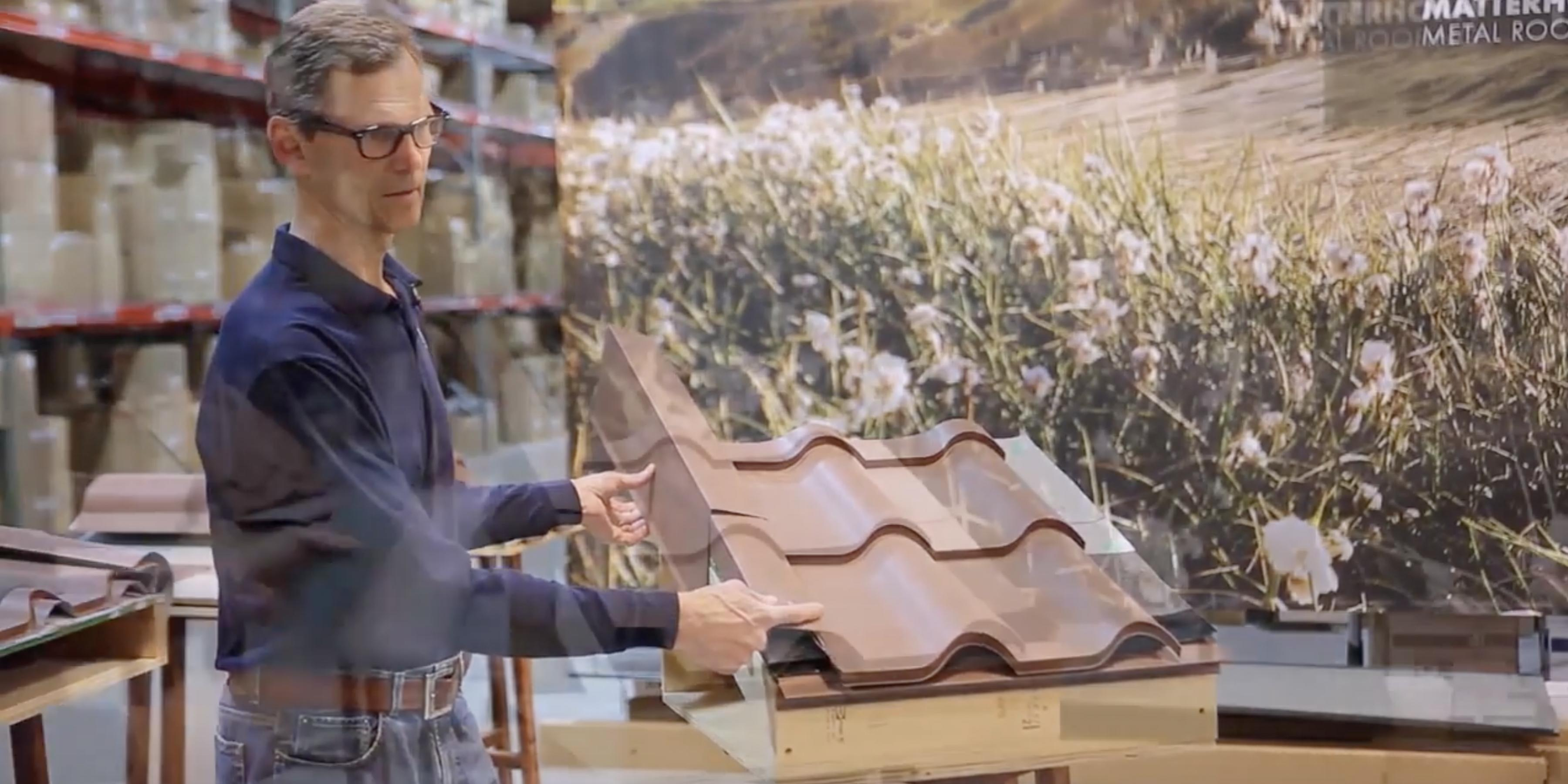 Tile Rake Edge Installation Matterhorn Metal Roofing