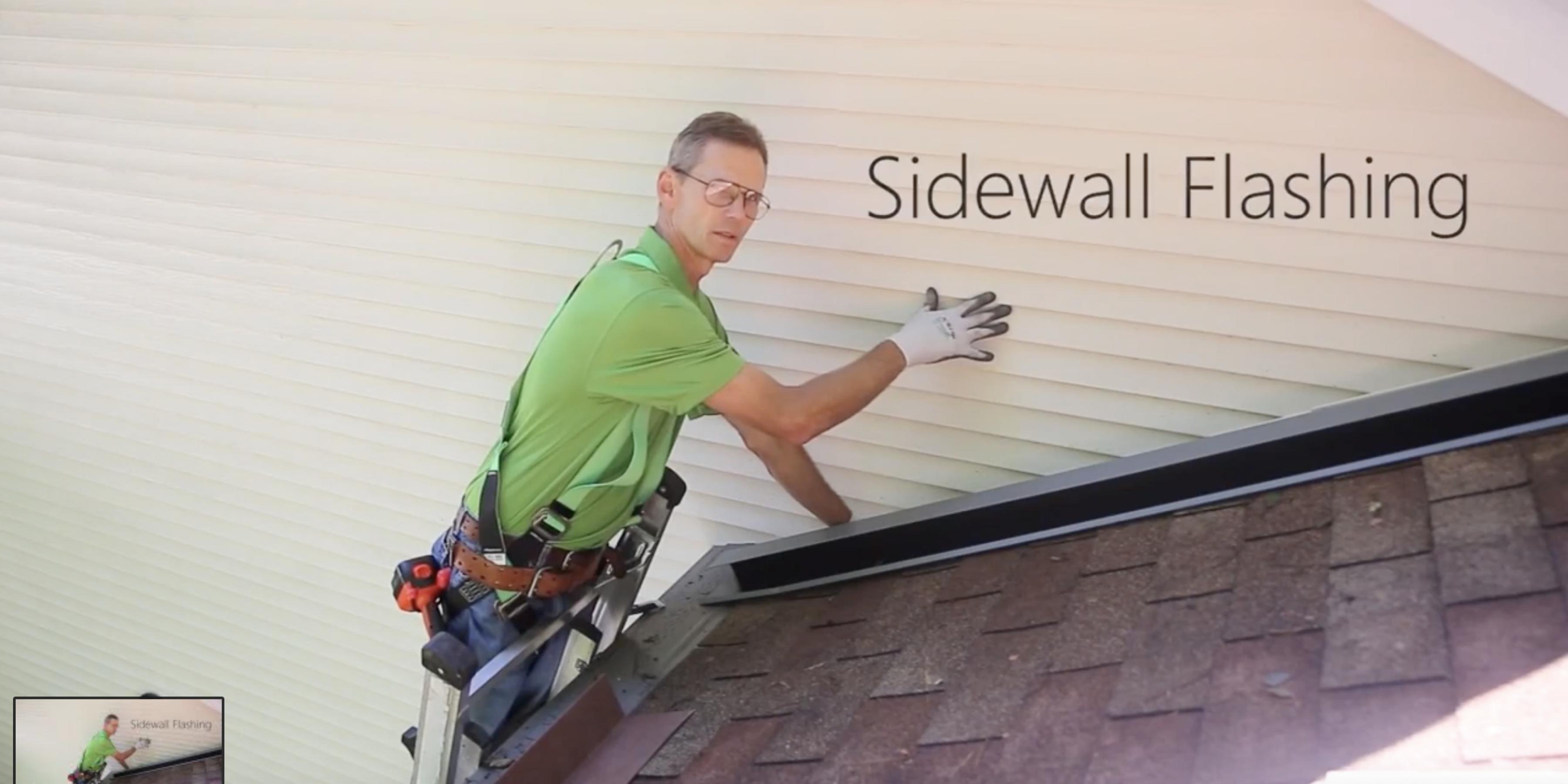 Tile Sidewall Flashing Flashing Installation Matterhorn Metal Roofing