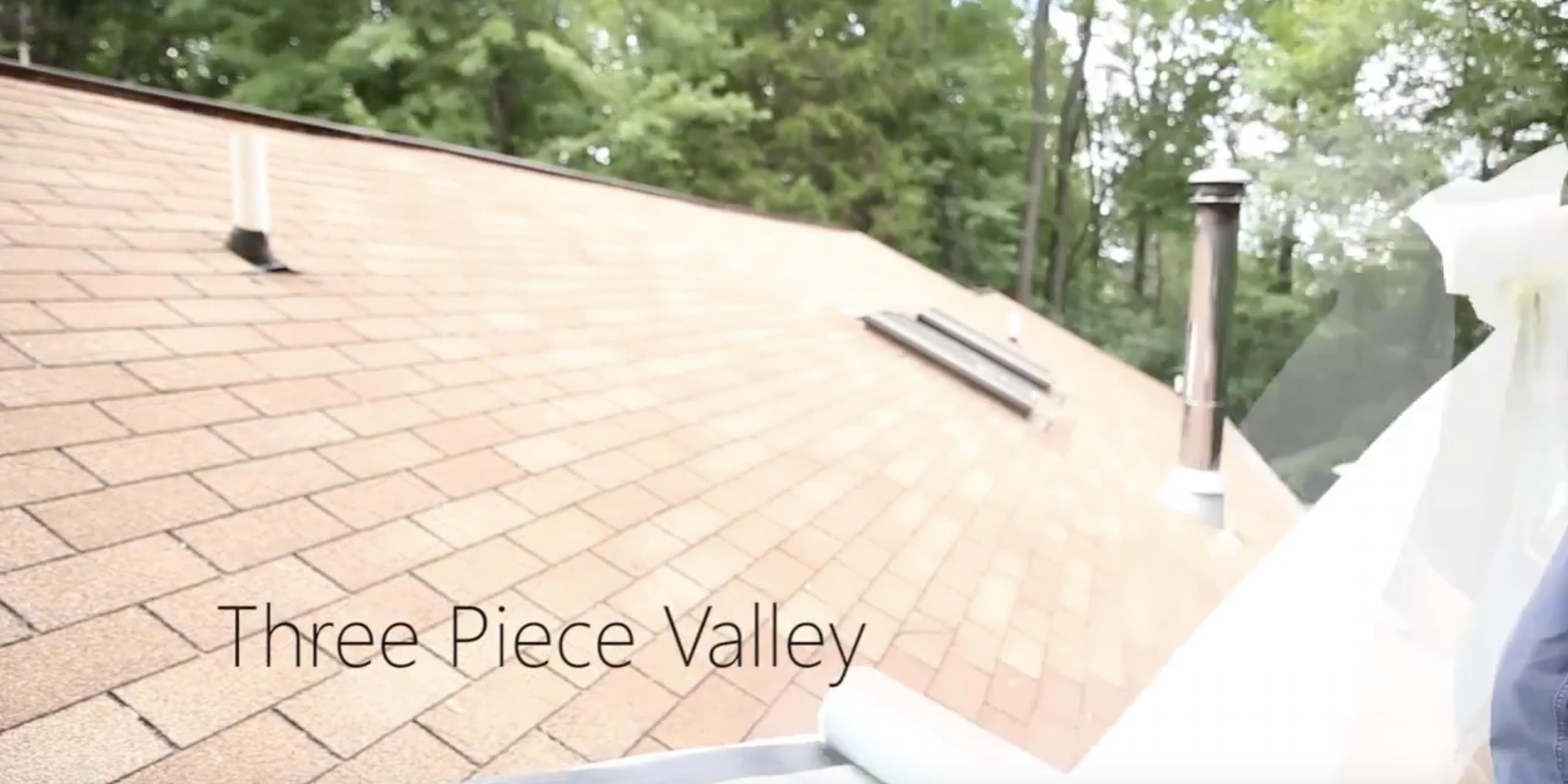 Tile Three Piece Valley Installation Matterhorn Metal Roofing