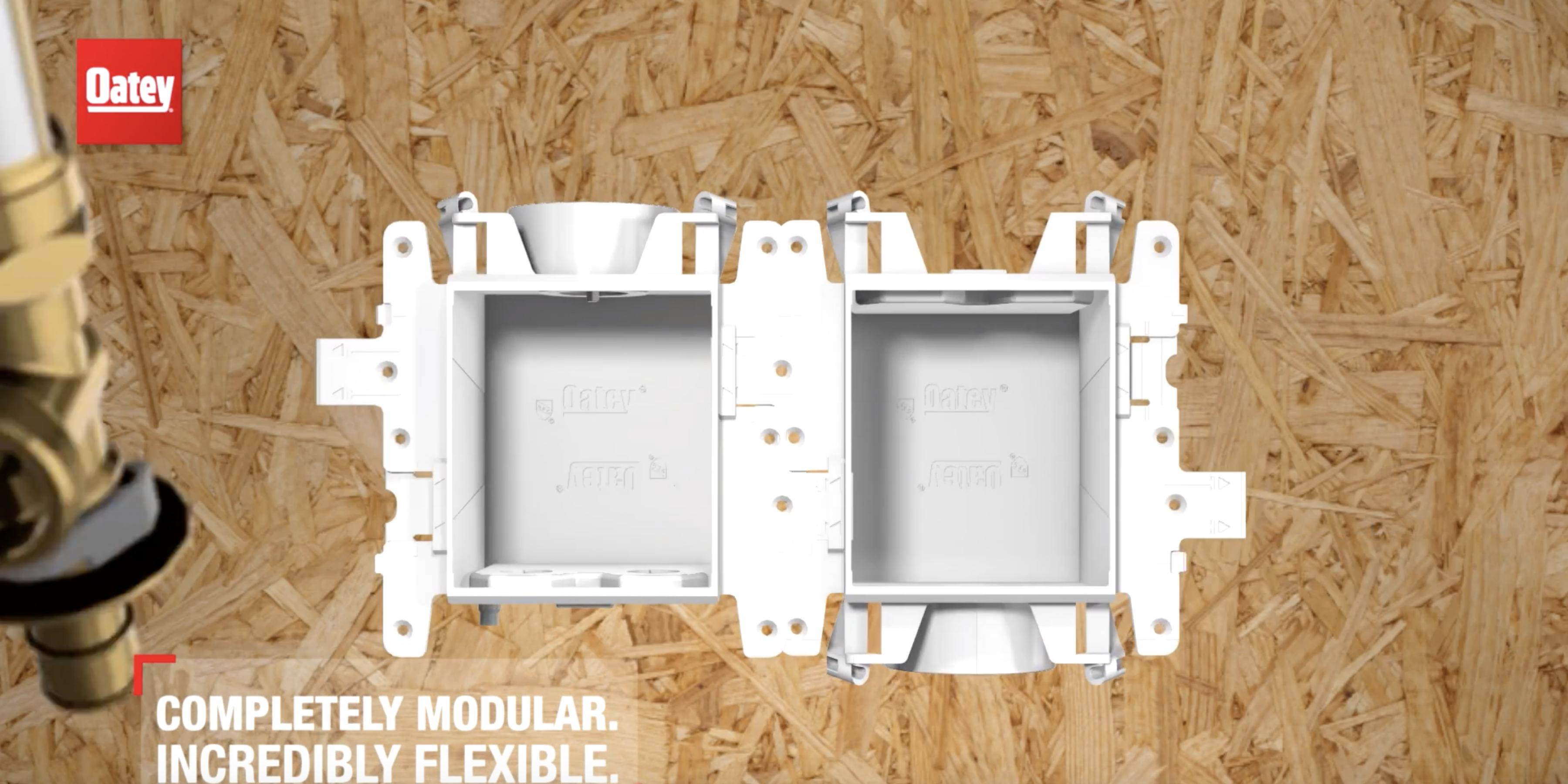 Oatey Moda - Modular Supply Box System