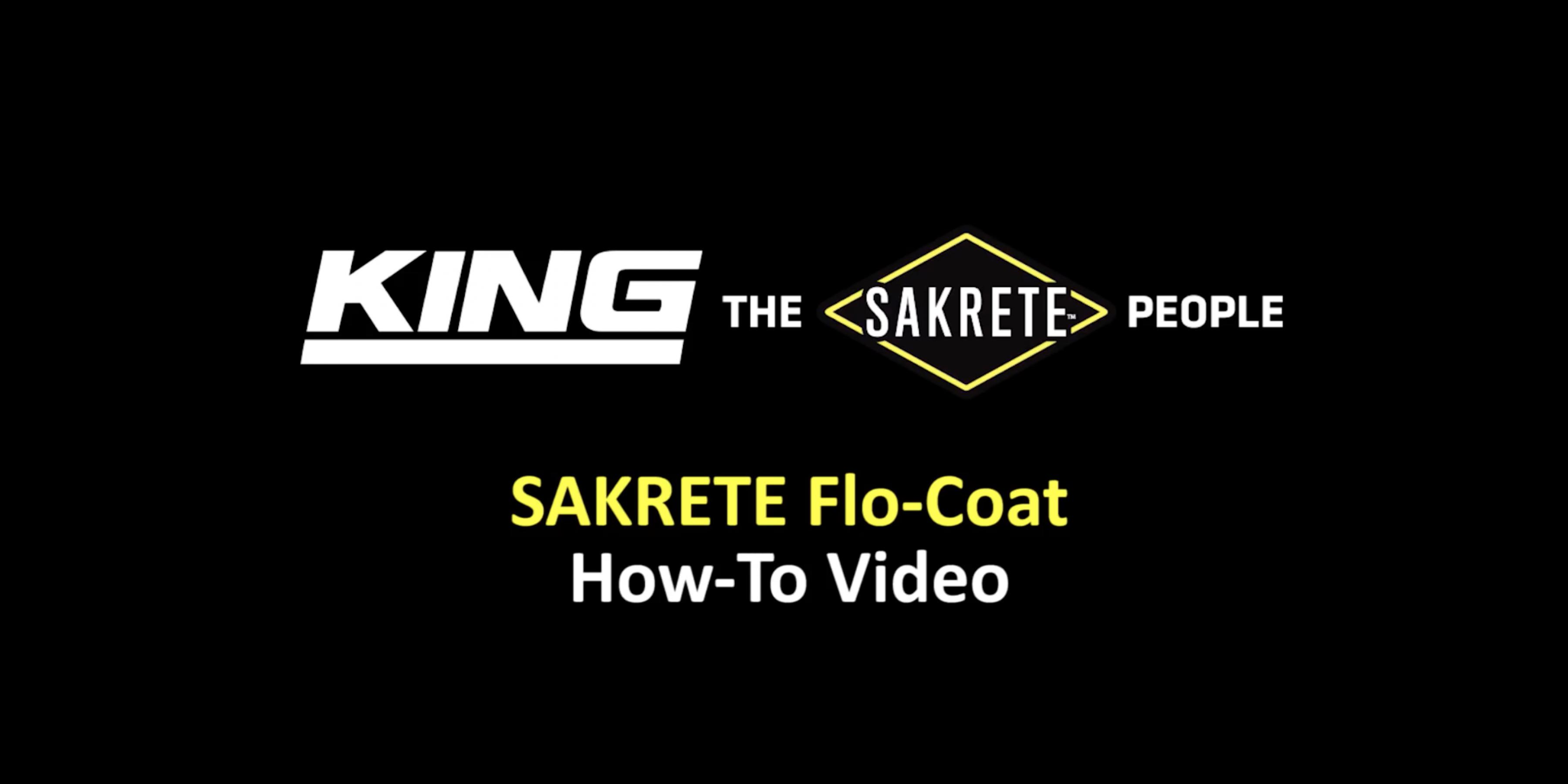 SAKRETE Flo-Coat How-To Video