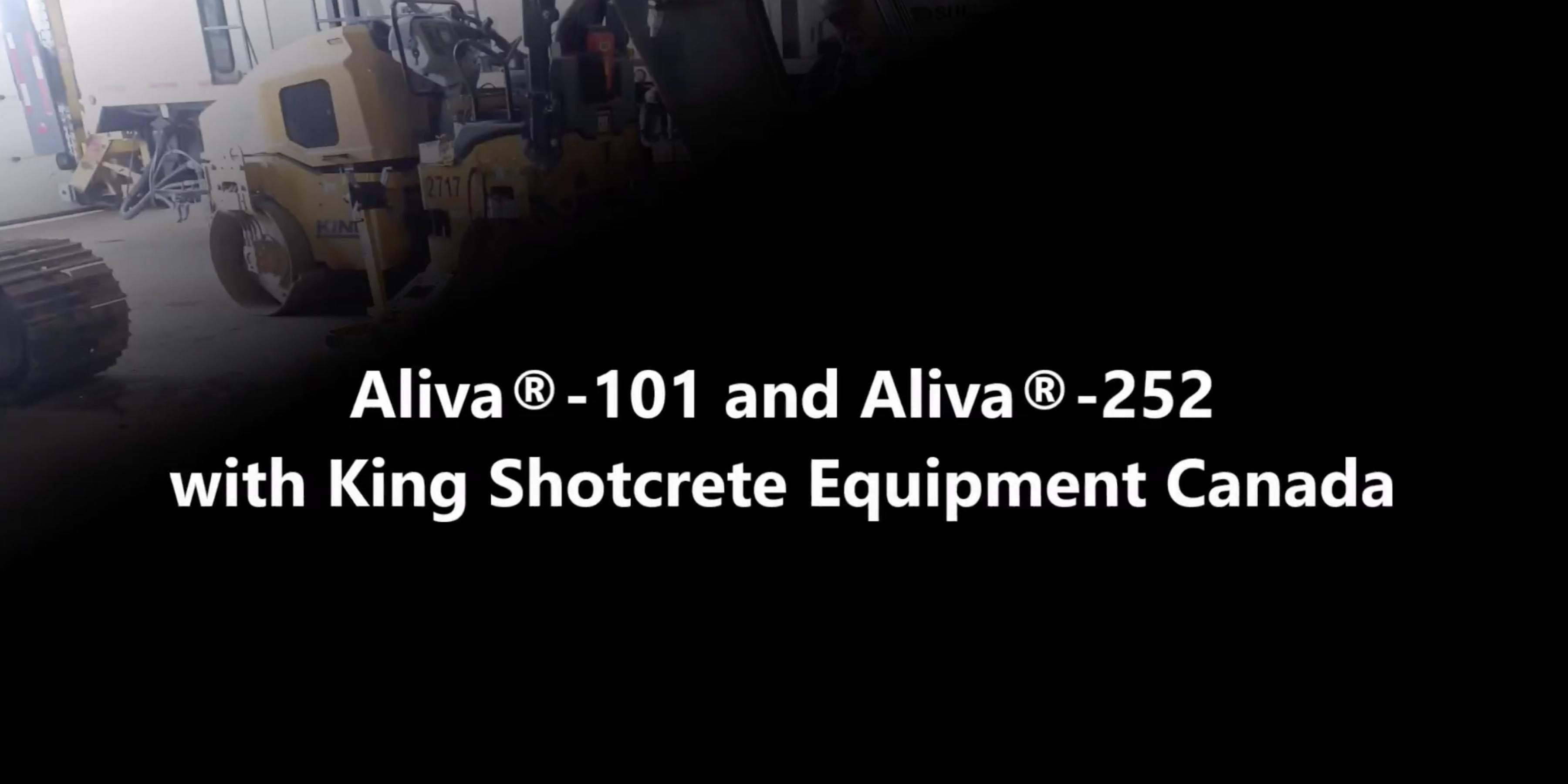 King Shotcrete Equipment Canada - AL-252 & AL-101 Demo
