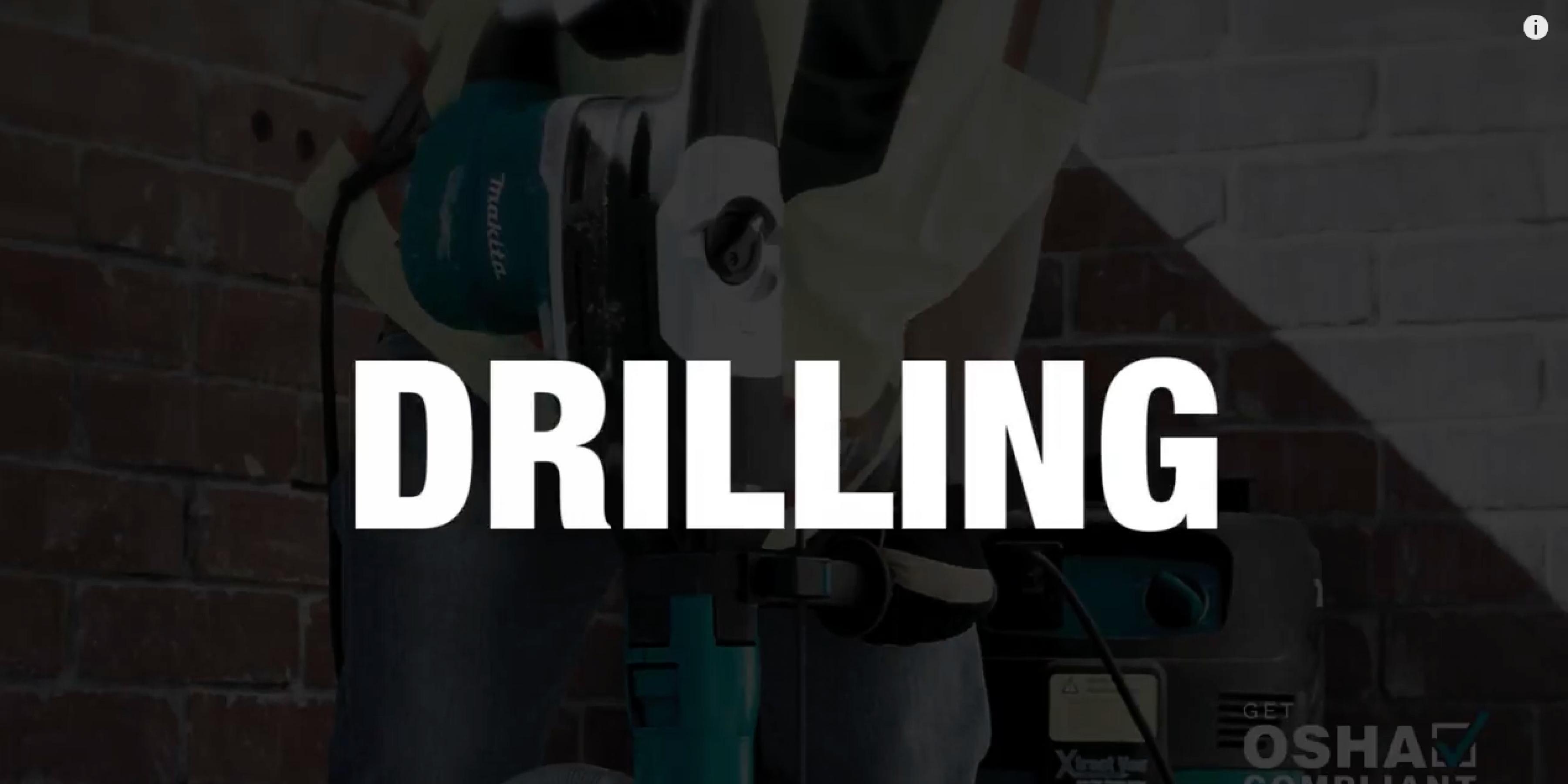 Get OSHA Compliant Dust Management Solution for Concrete Drilling