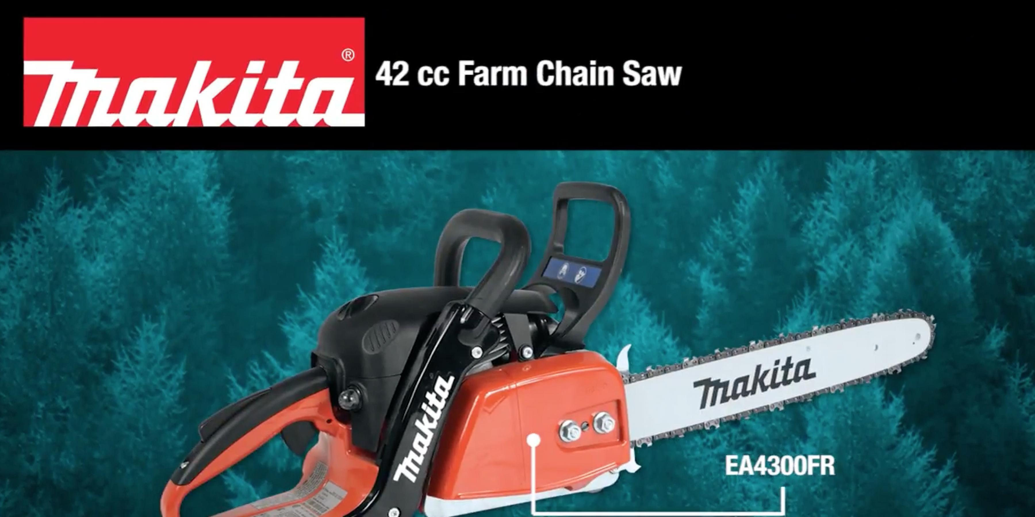 MAKITA 42 cc Farm Chain Saw (EA4300FR)