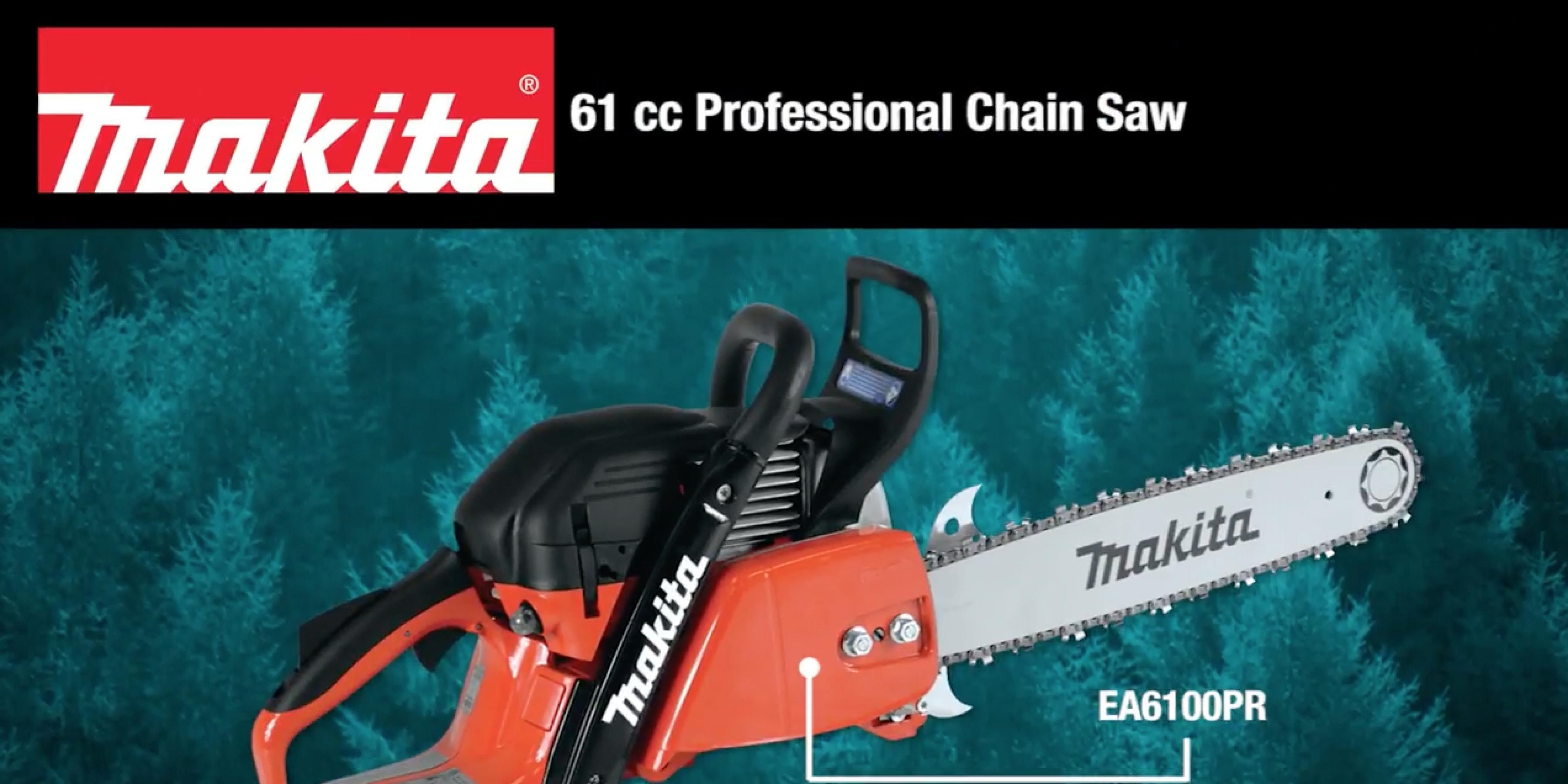 MAKITA 61 cc Professional Chain Saw (EA6100PR)