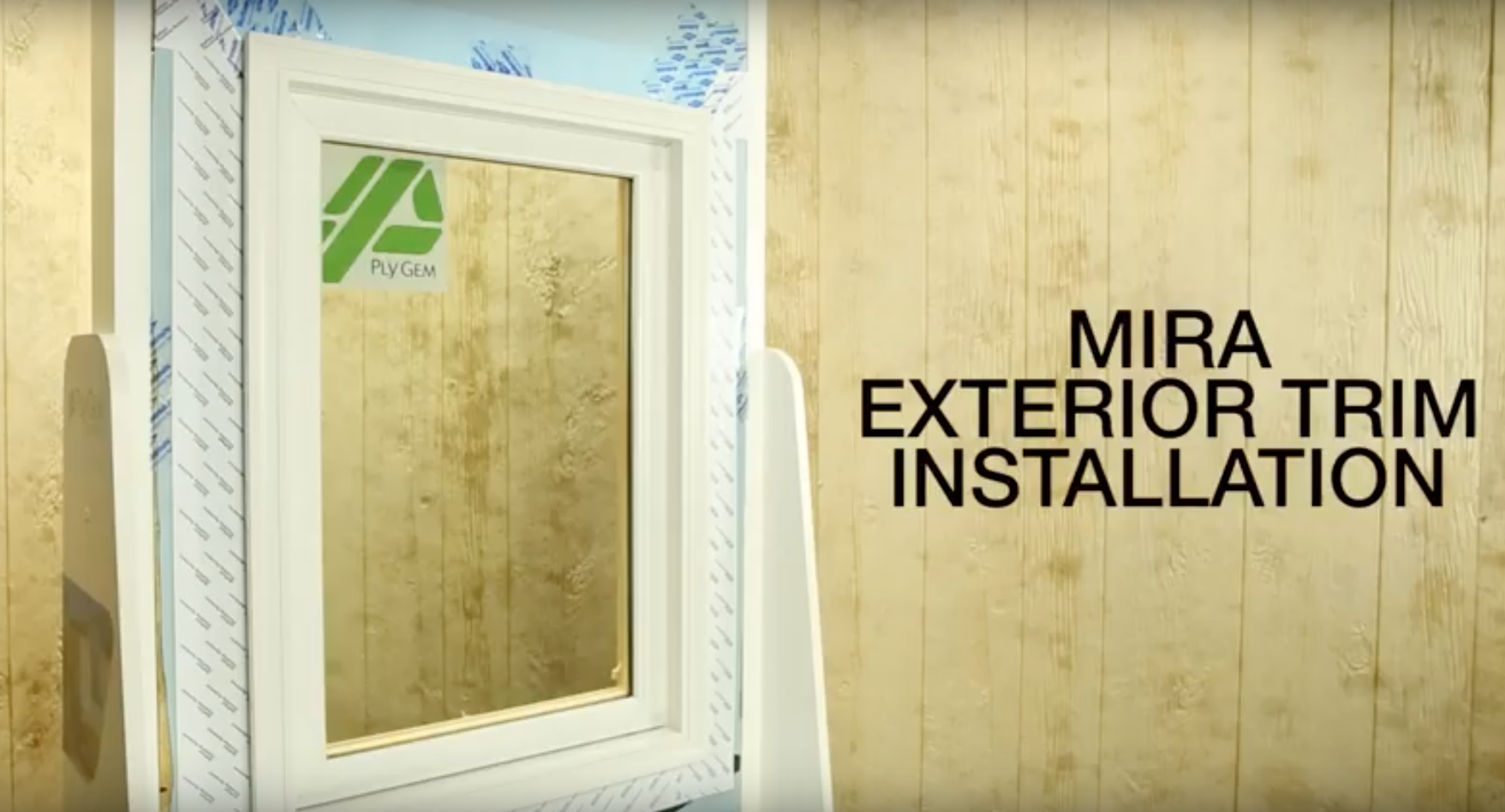 MIRA Window Casing Installation How-To