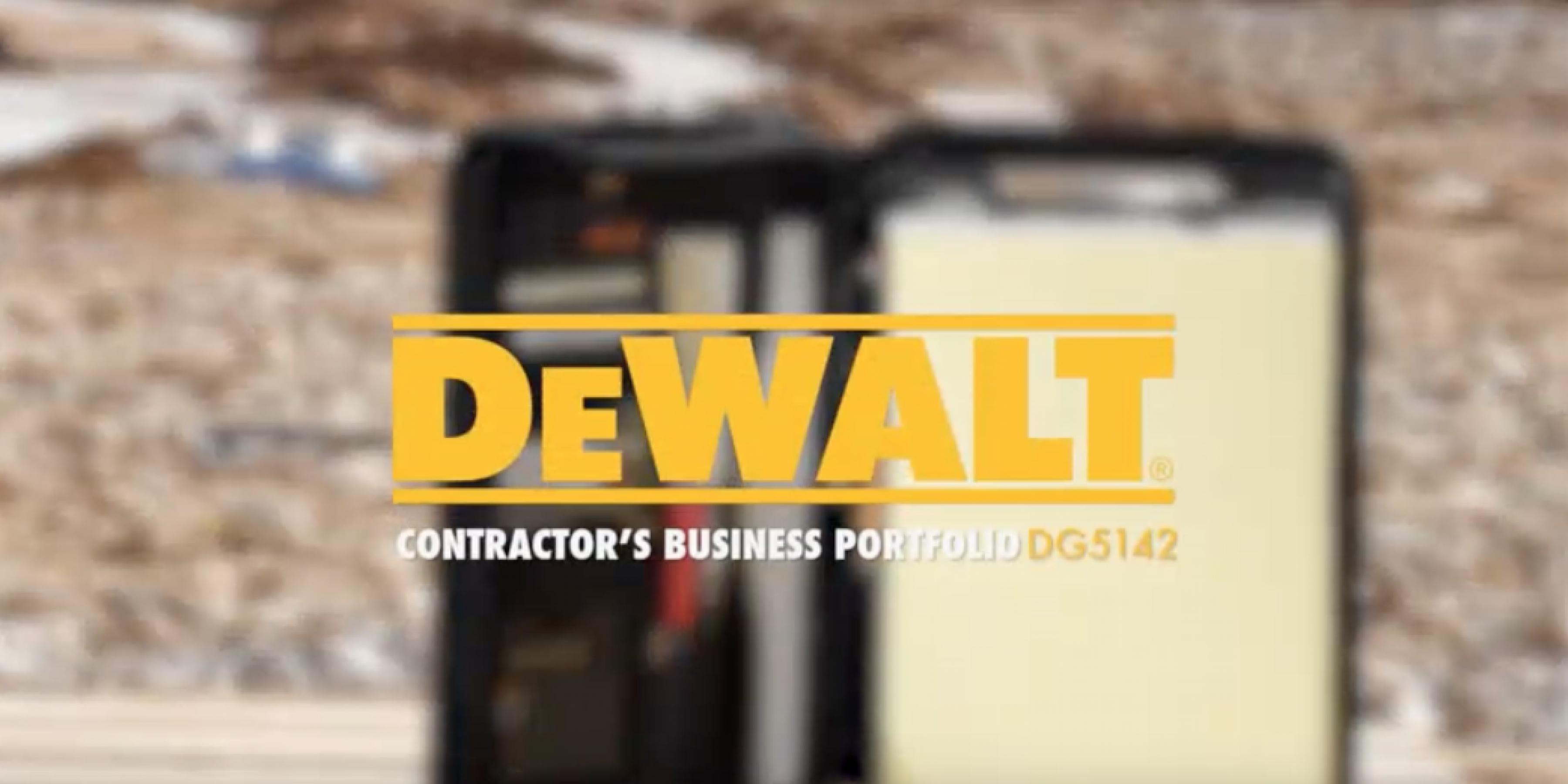 DEWALT DG5142 Lighted Pro Contractor's Business Portfolio