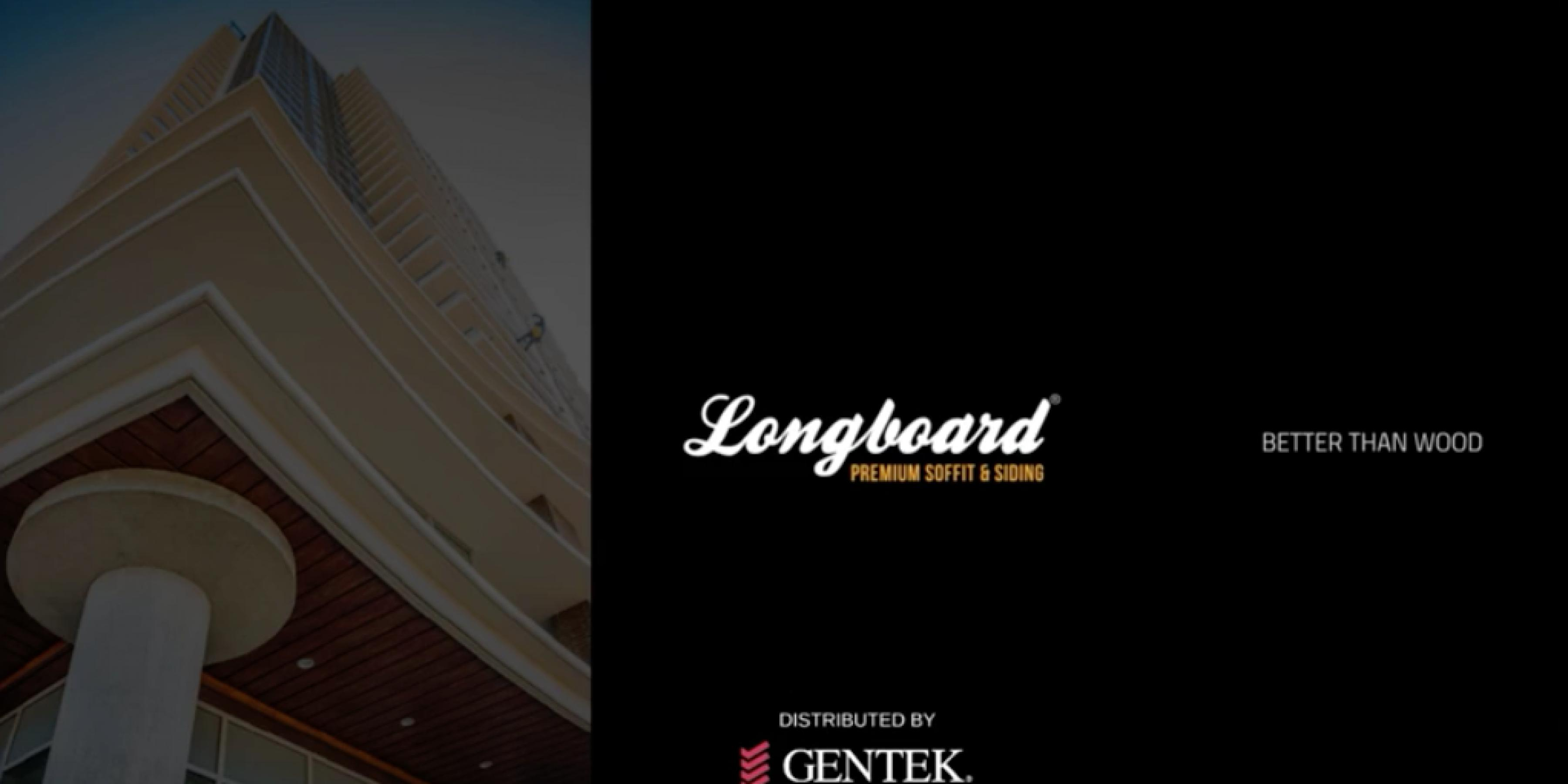Gentek® Longboard- Premium Soffit & Siding