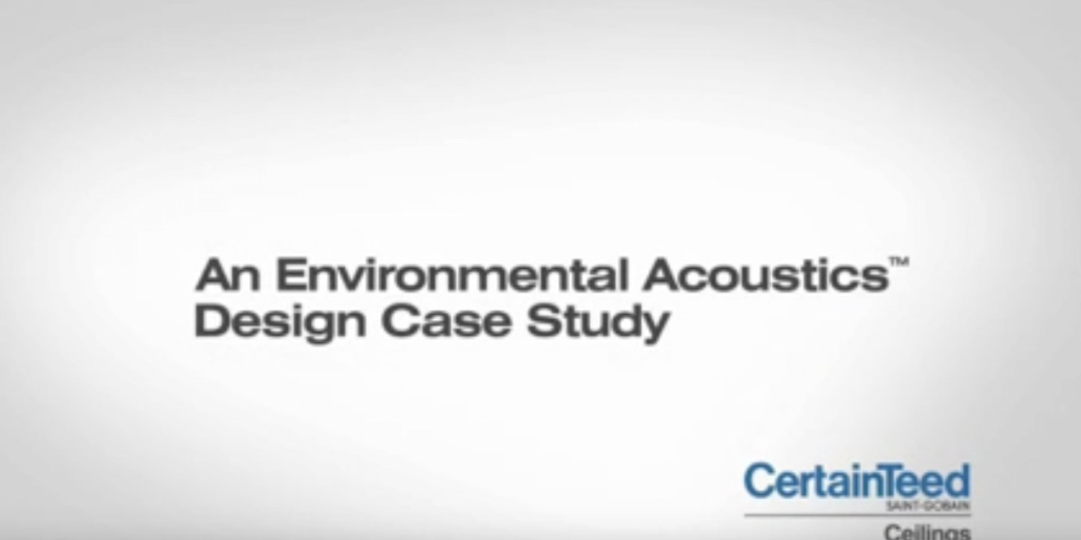 Ceilings Case Study Collection