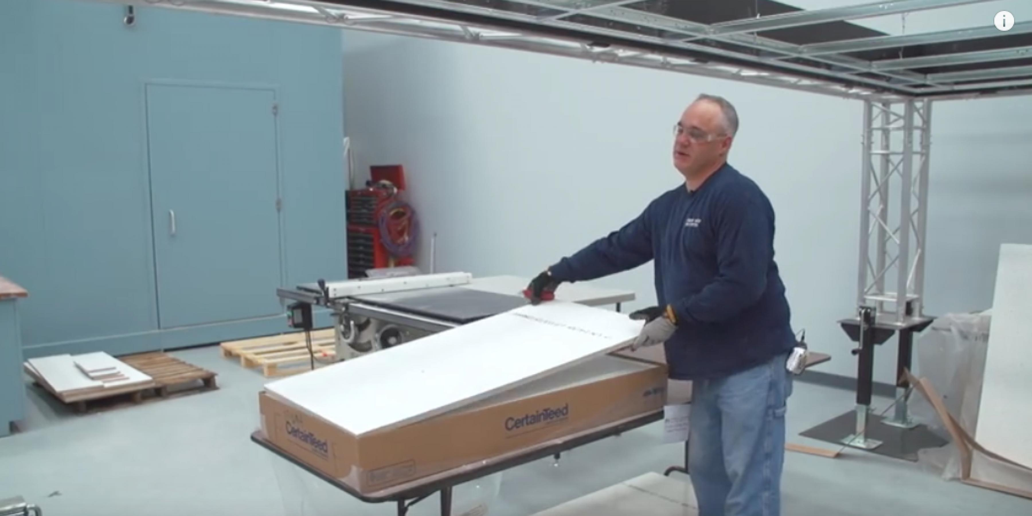 Product Comparison: Fine Fissured Acoustic Ceiling Panels