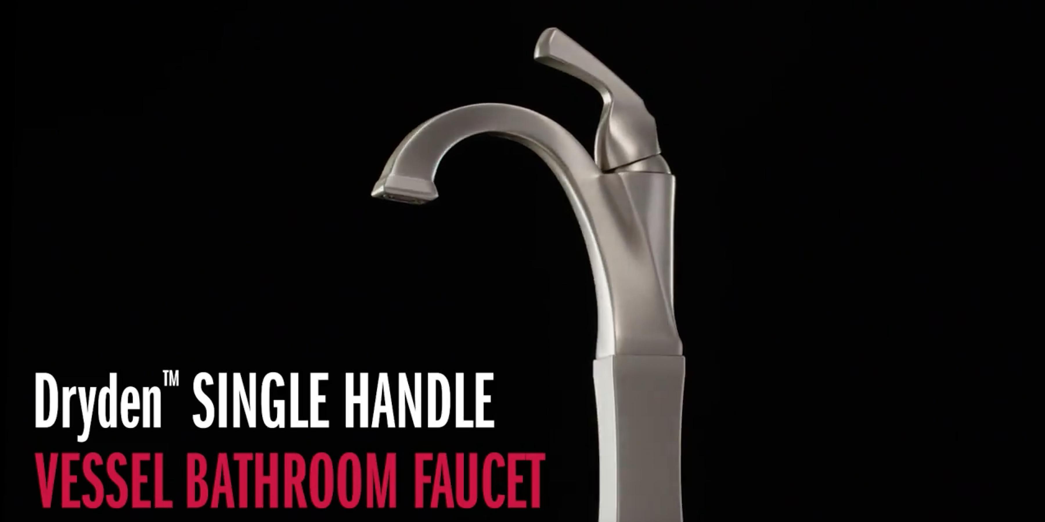 Dryden™ Single Handle Vessel Bathroom Faucet