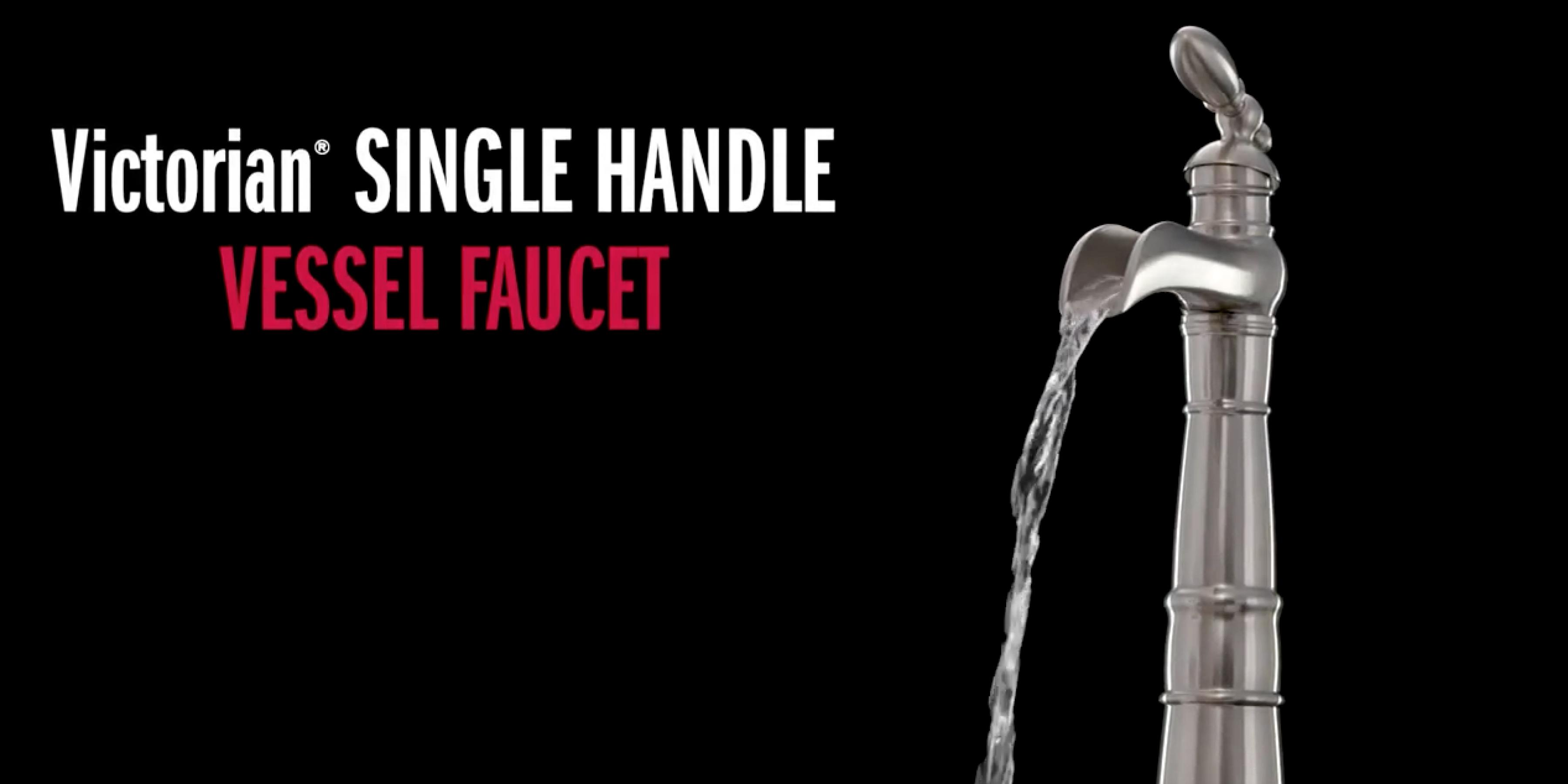 Victorian® Single Handle Vessel Faucet