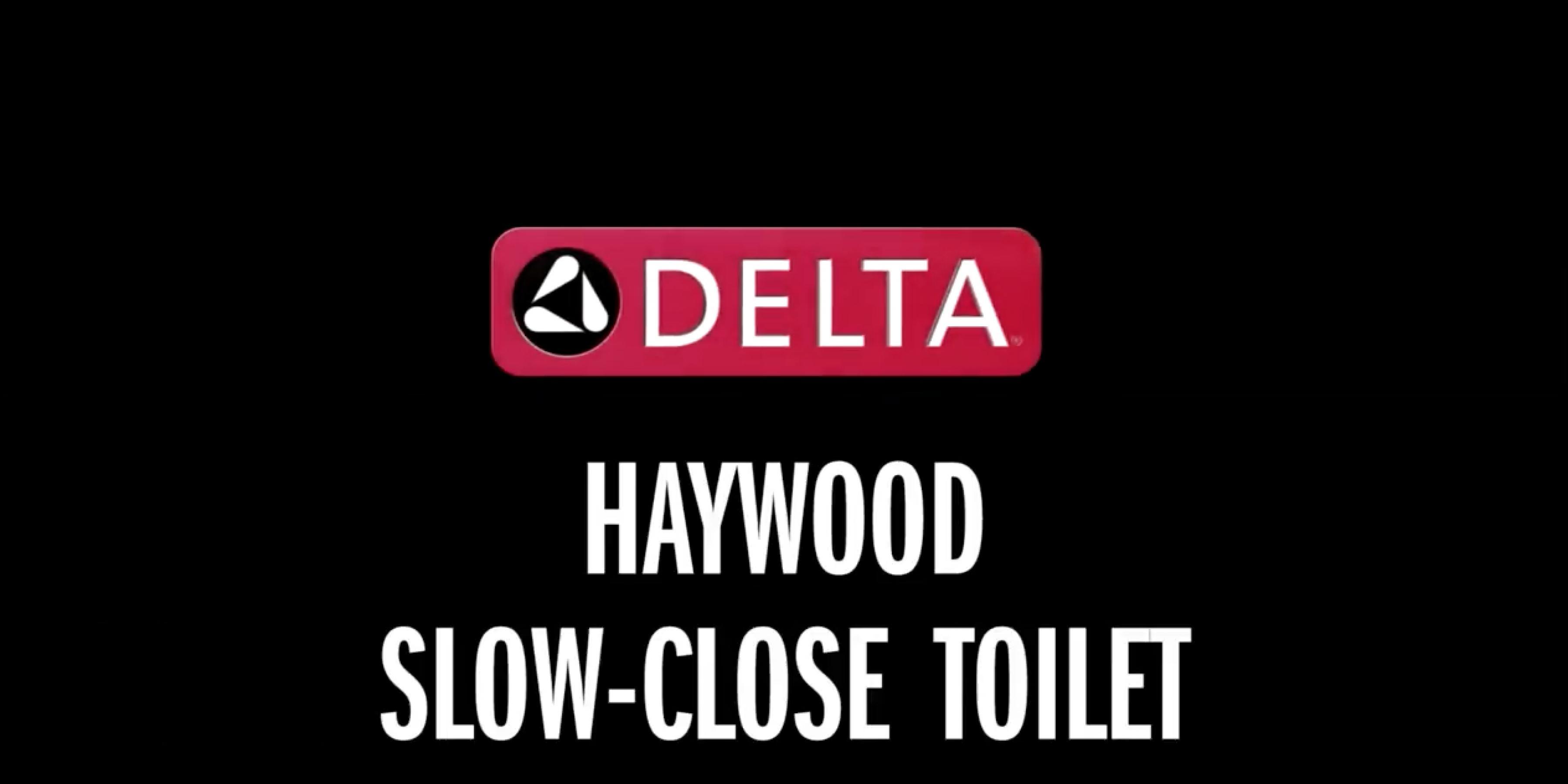 Haywood™ Slow-Close Toilet