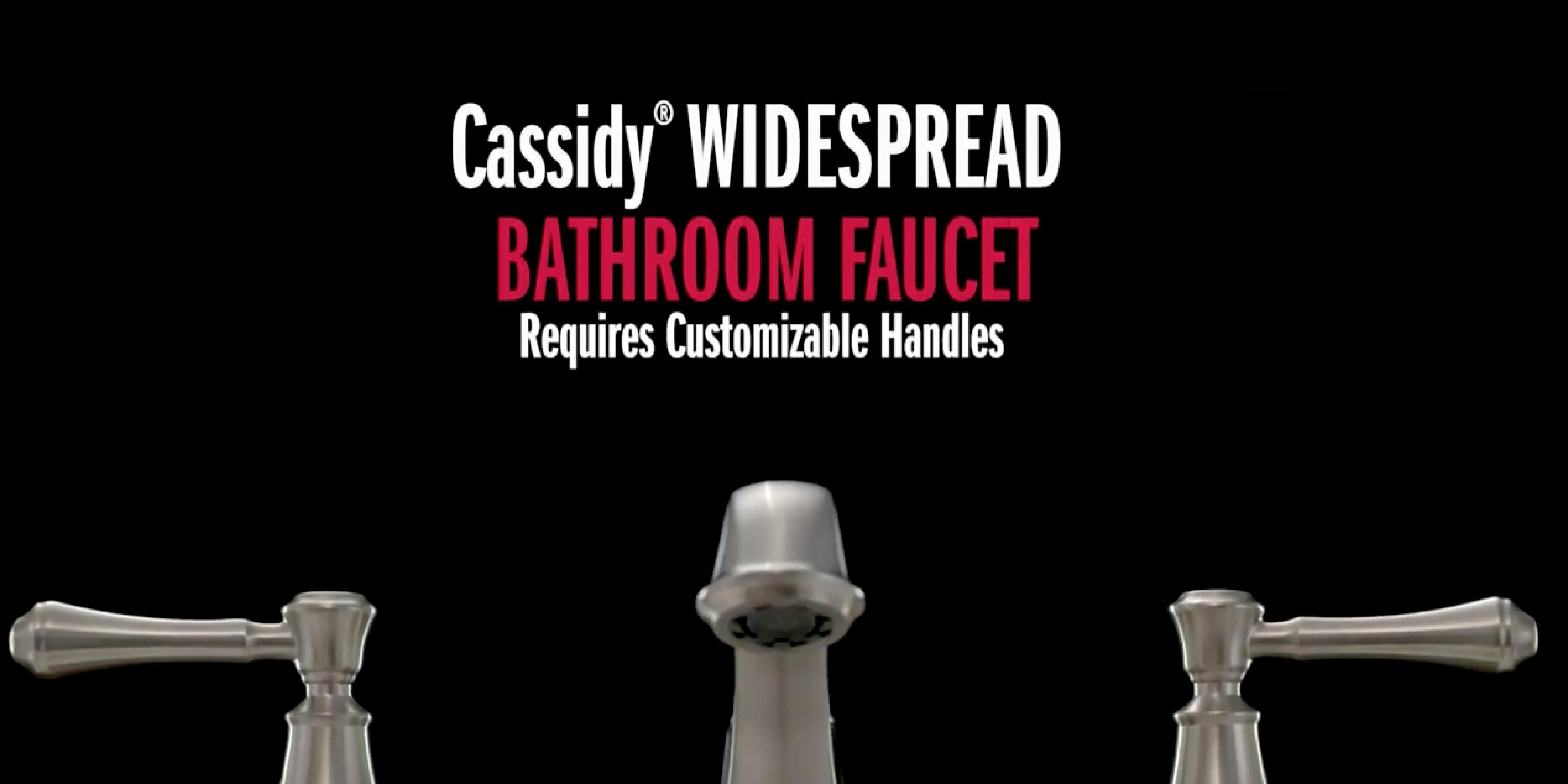 Cassidy® Widespread Bathroom Faucet