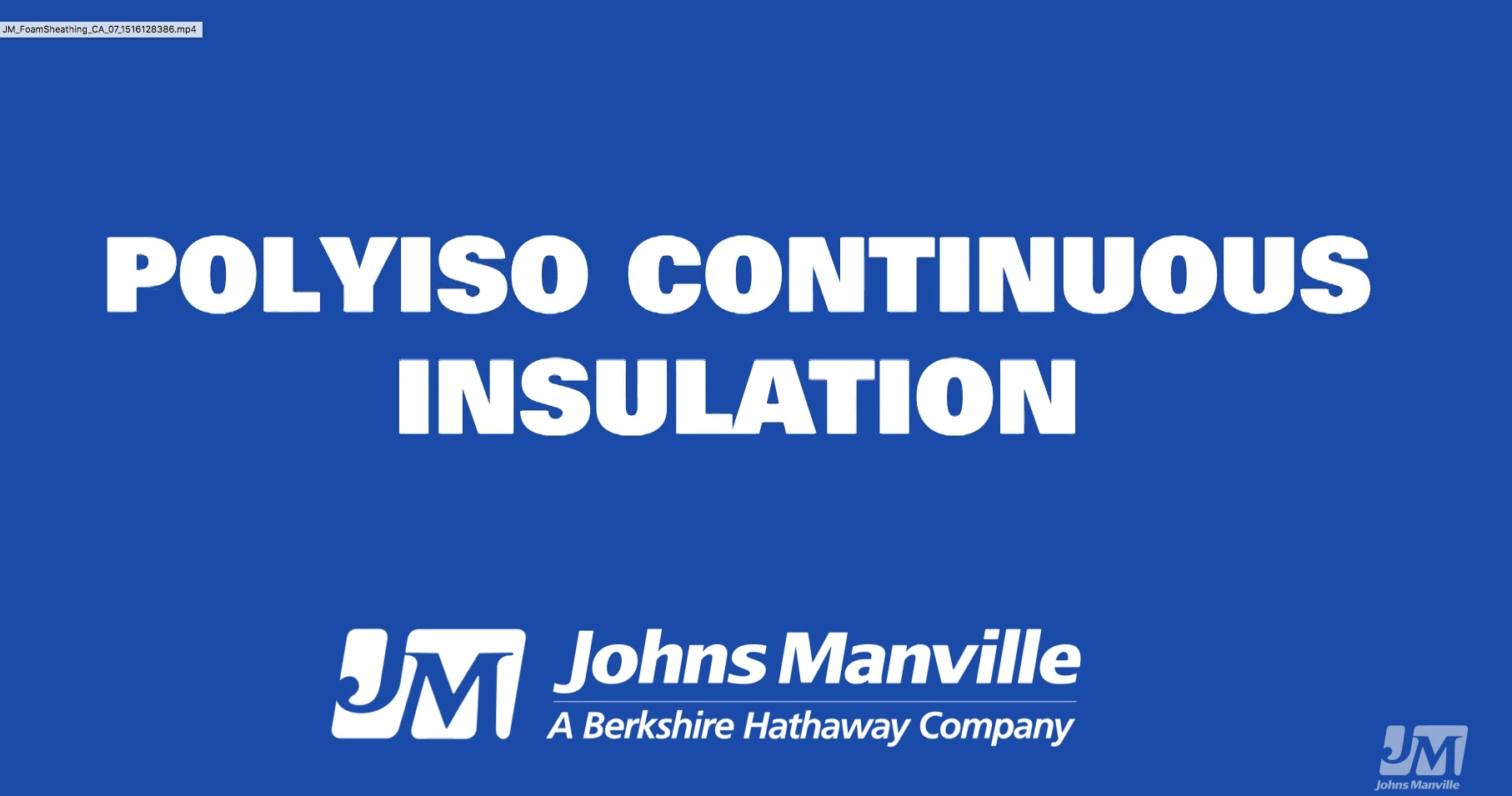 Polyiso Continuous Insulation