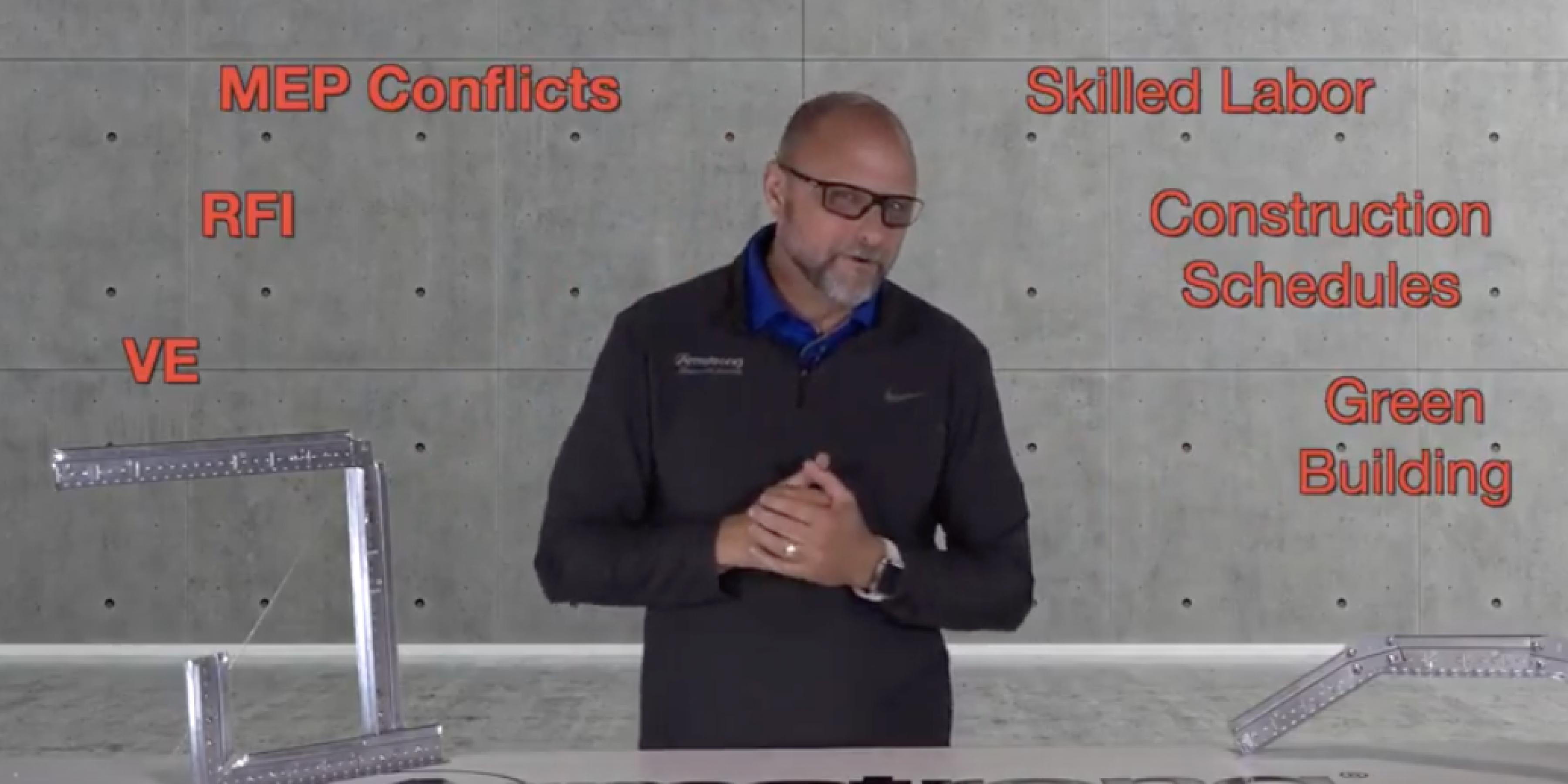 Why specify drywall grid soffits?