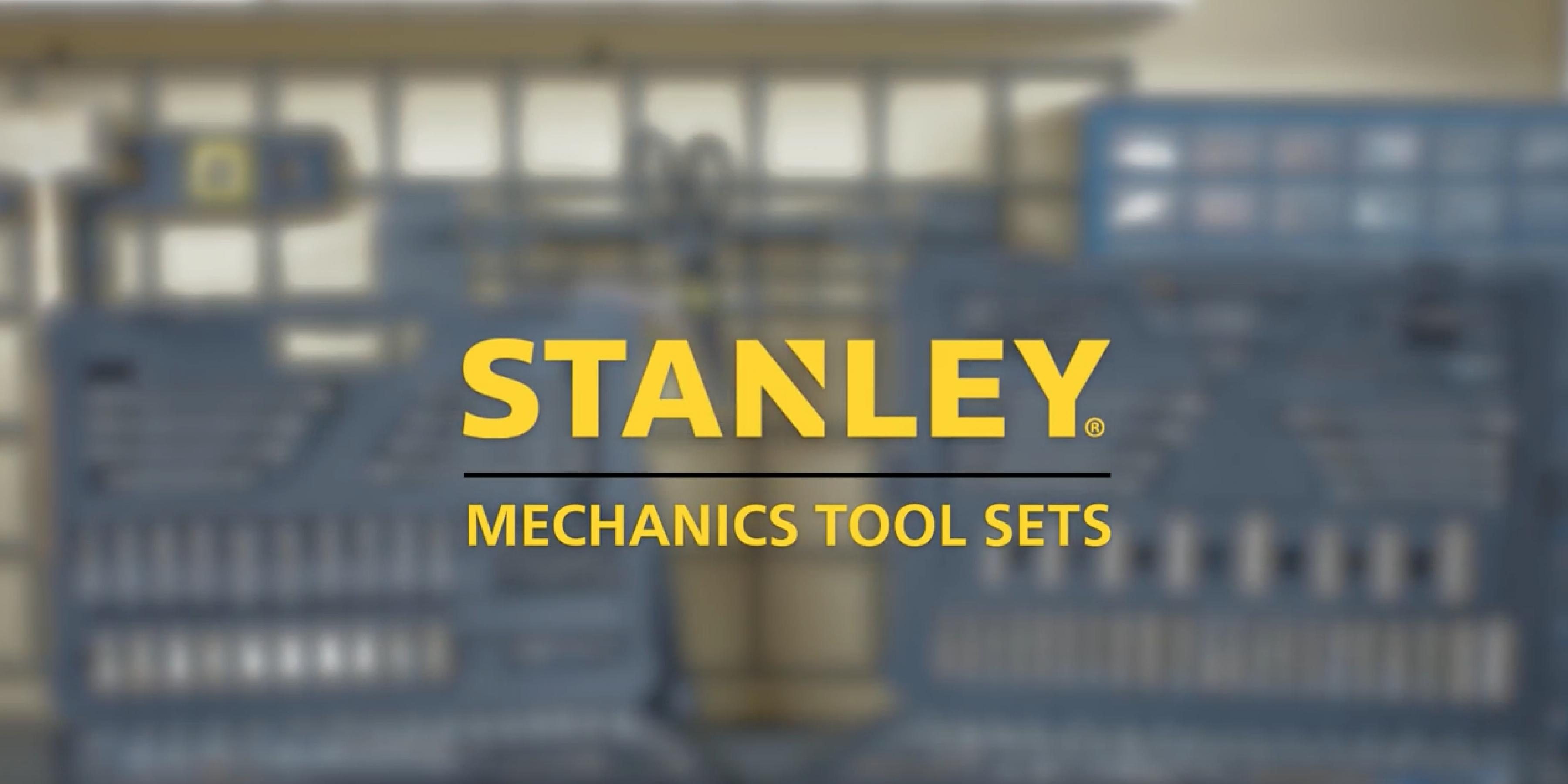 New STANLEY Mechanics Tool Sets