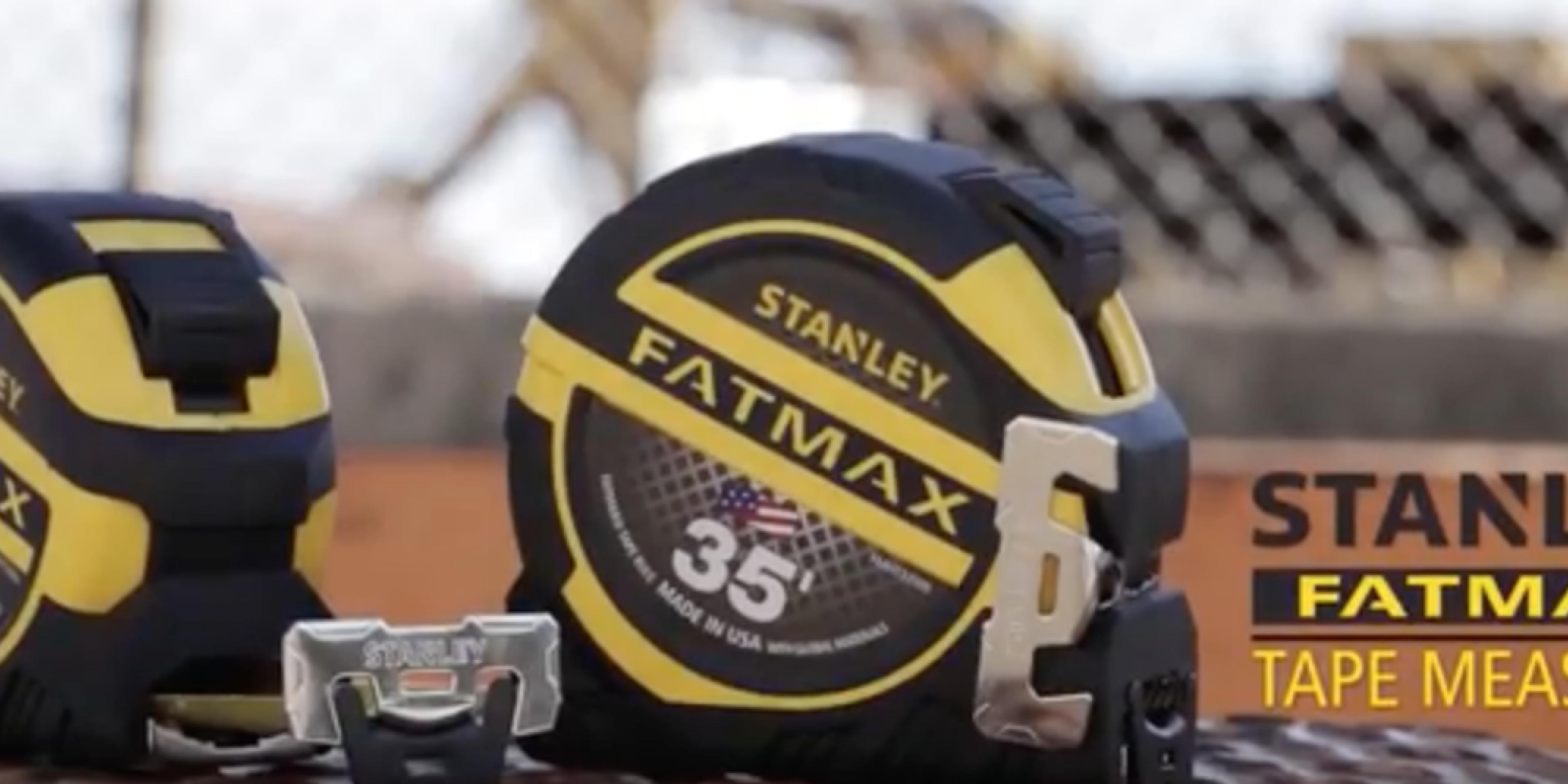 New STANLEY FATMAX® Tape Rules