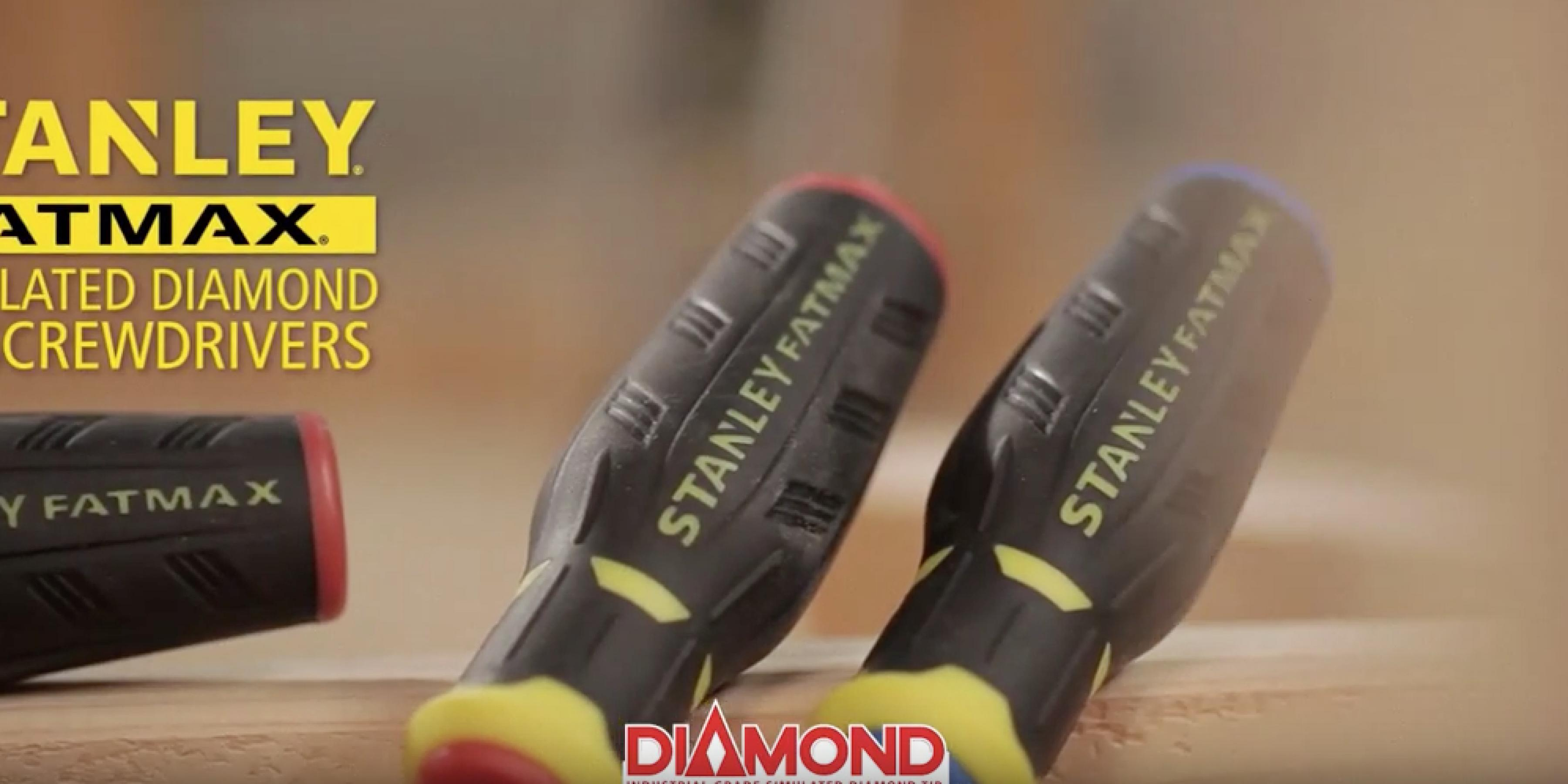 STANLEY FatMax® Simulated Diamond Tip Screwdrivers