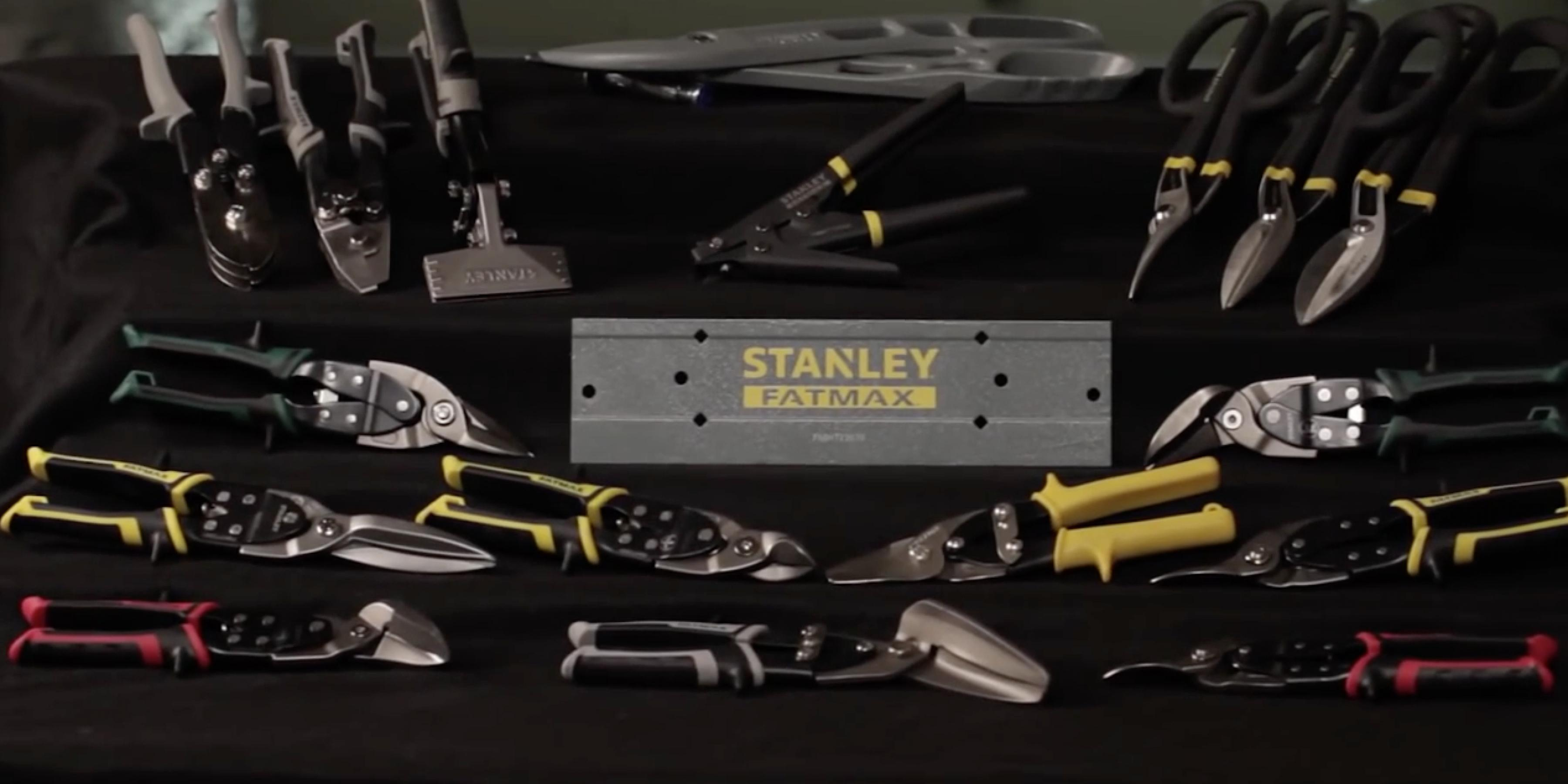 STANLEY FATMAX® Snips. HVAC Tools for a variety of applications.