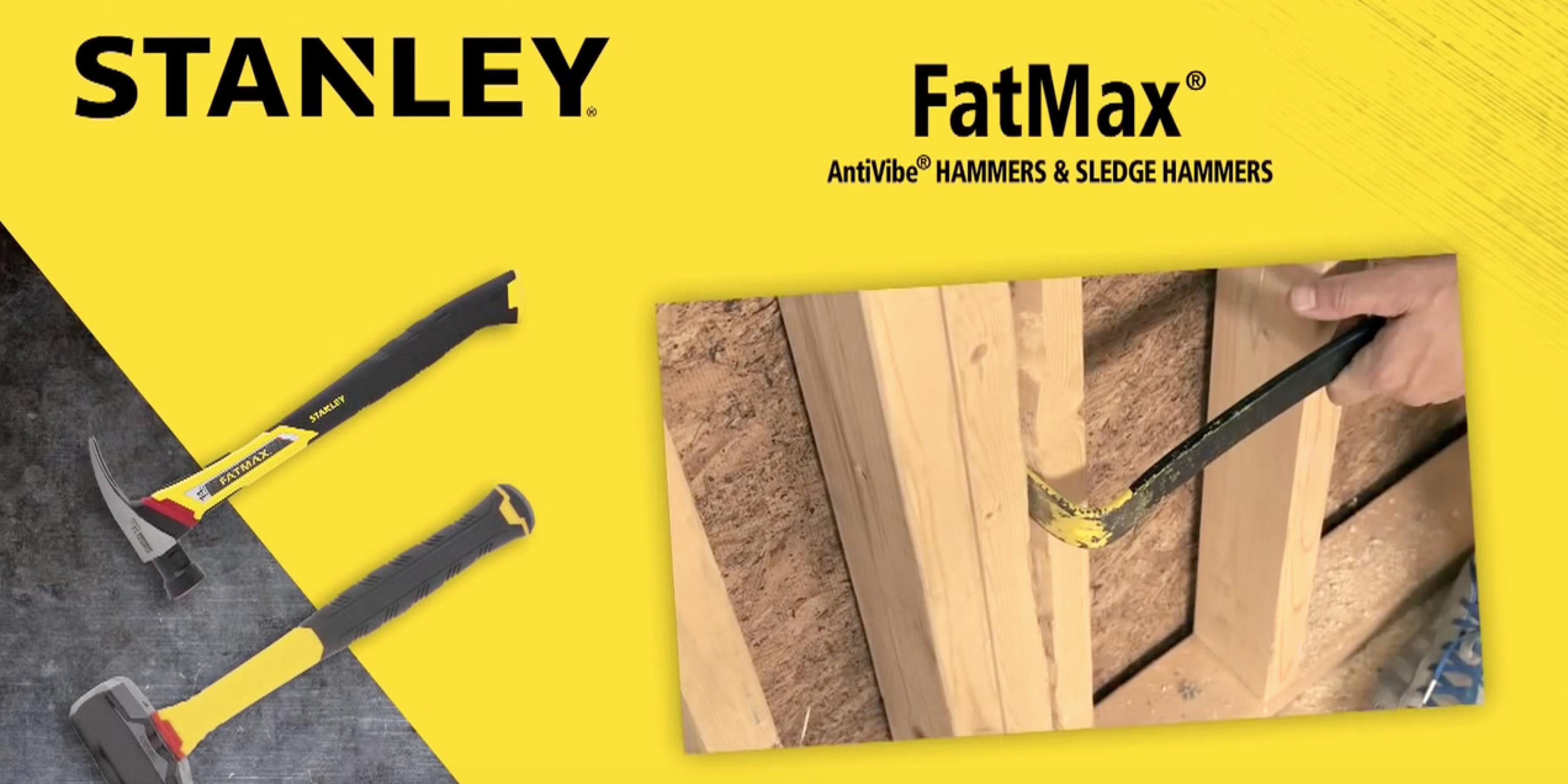 FatMax AntiVibe Hammers and Sledge Hammers -- with AntiVibe® Technology