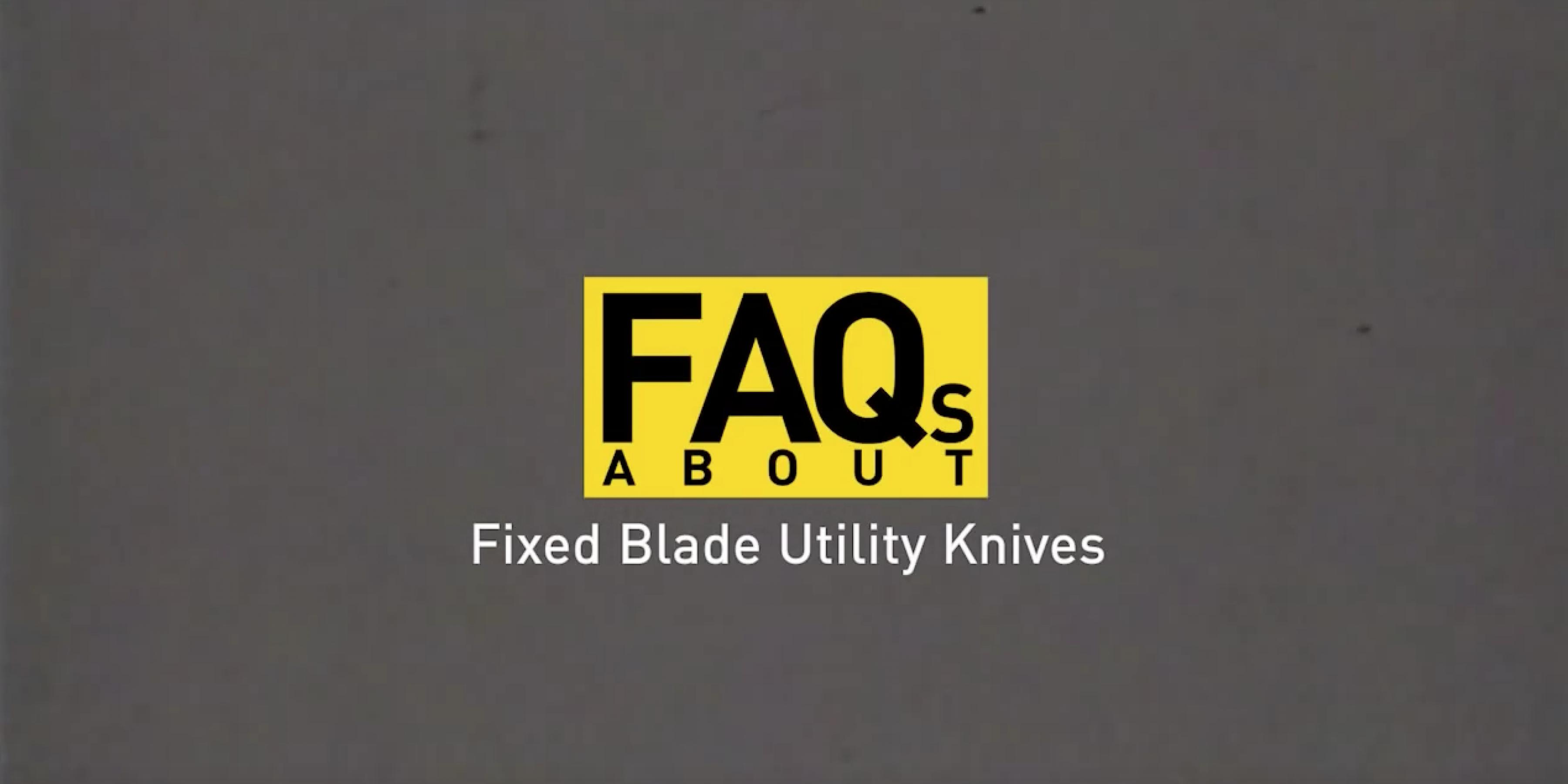 Stanley® Fixed Blade Knives