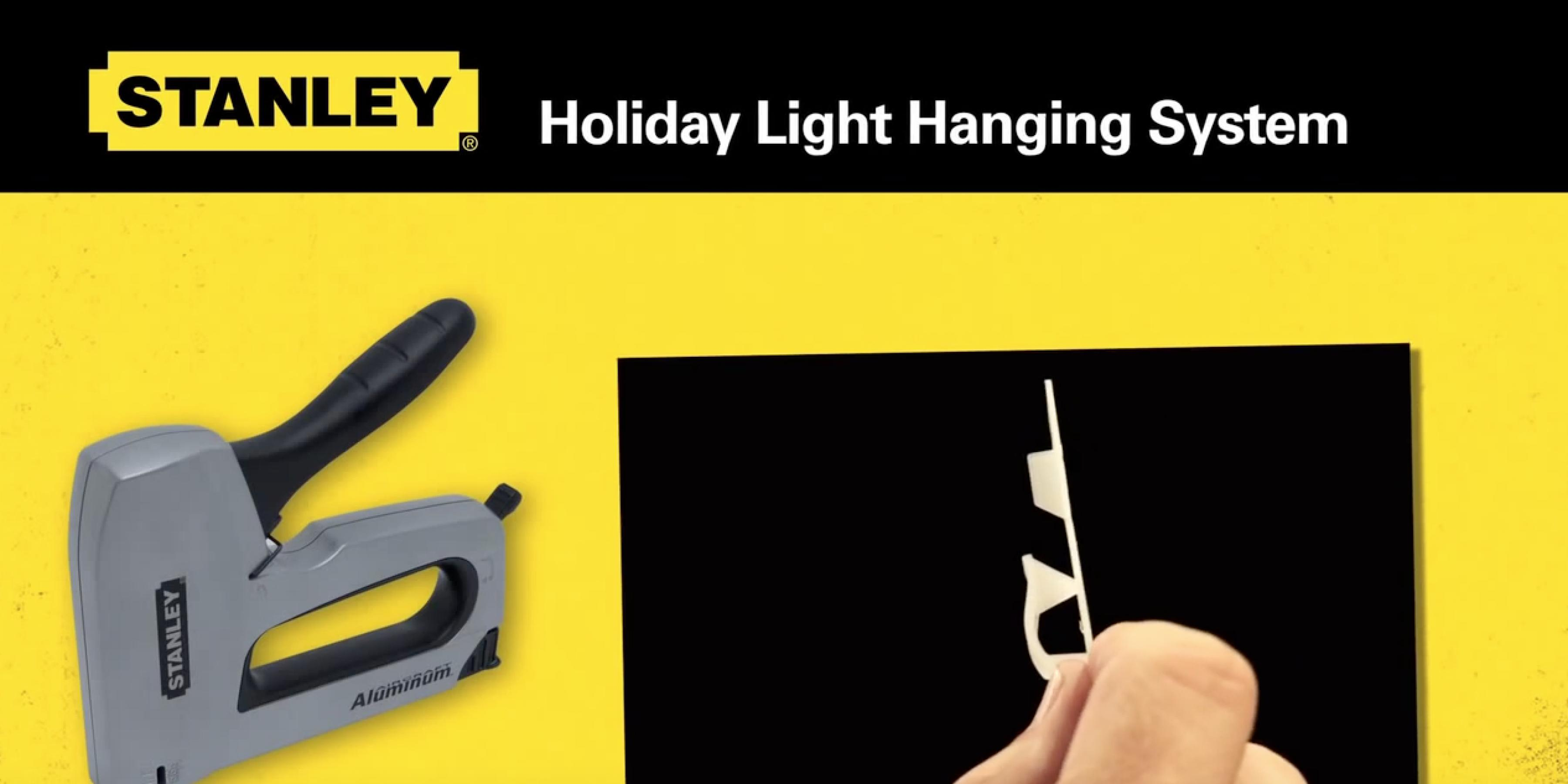 Stanley Holiday Light Hanging System