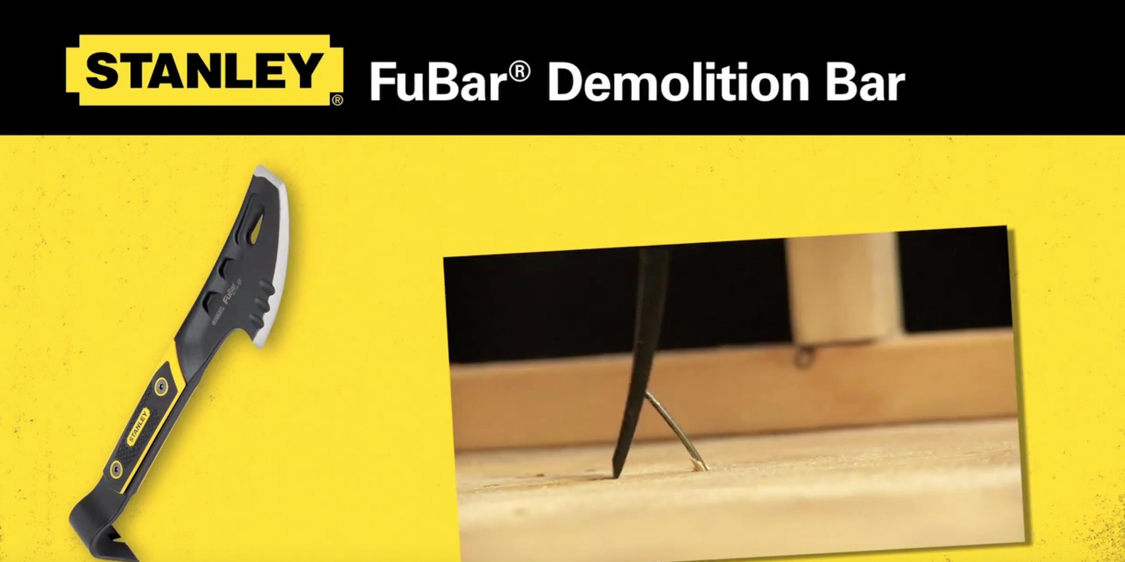 Stanley Fubar Demolition Bar