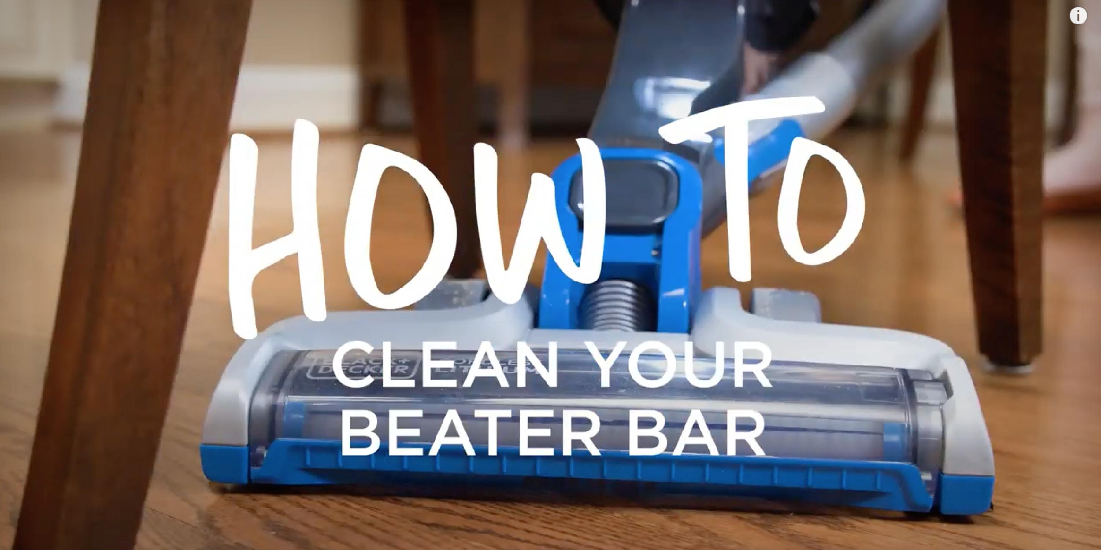 How to Clean a Vacuum Beater Bar - BLACK+DECKER­™
