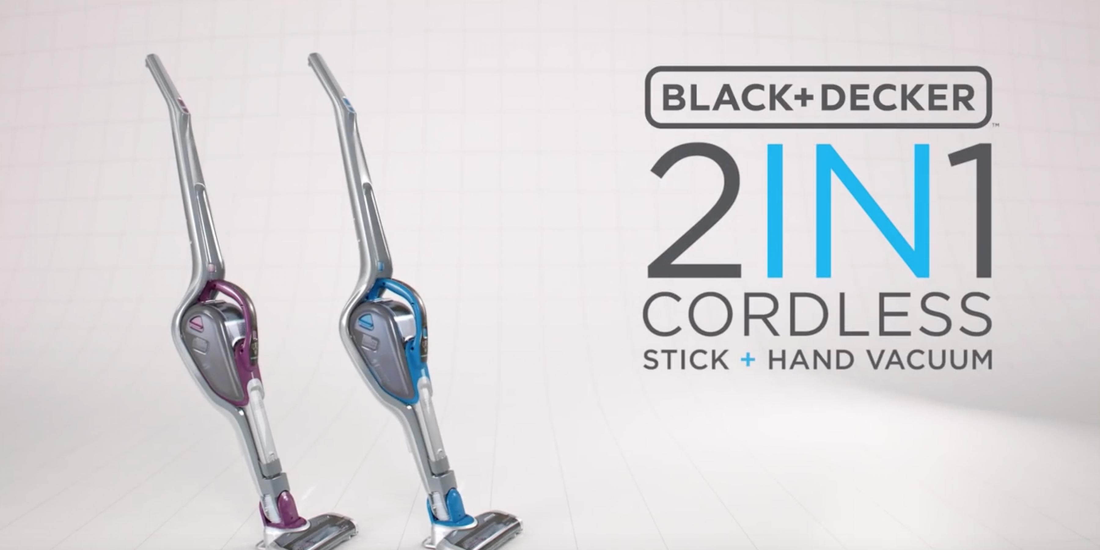 2-IN-1 Cordless Stick and Hand Vacuum - Clean Smarter, Not Harder