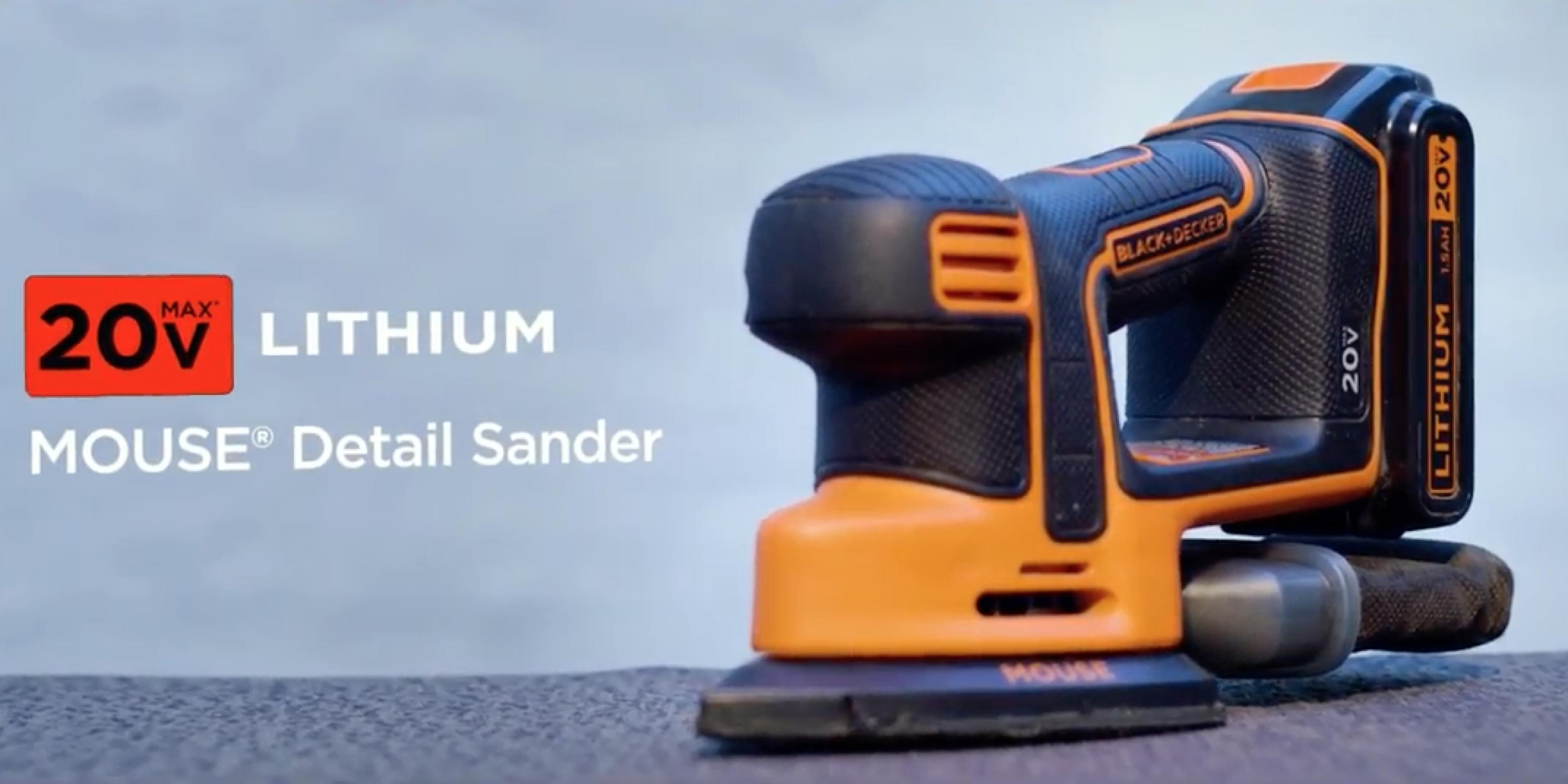 The MOUSE® Sander is now cordless