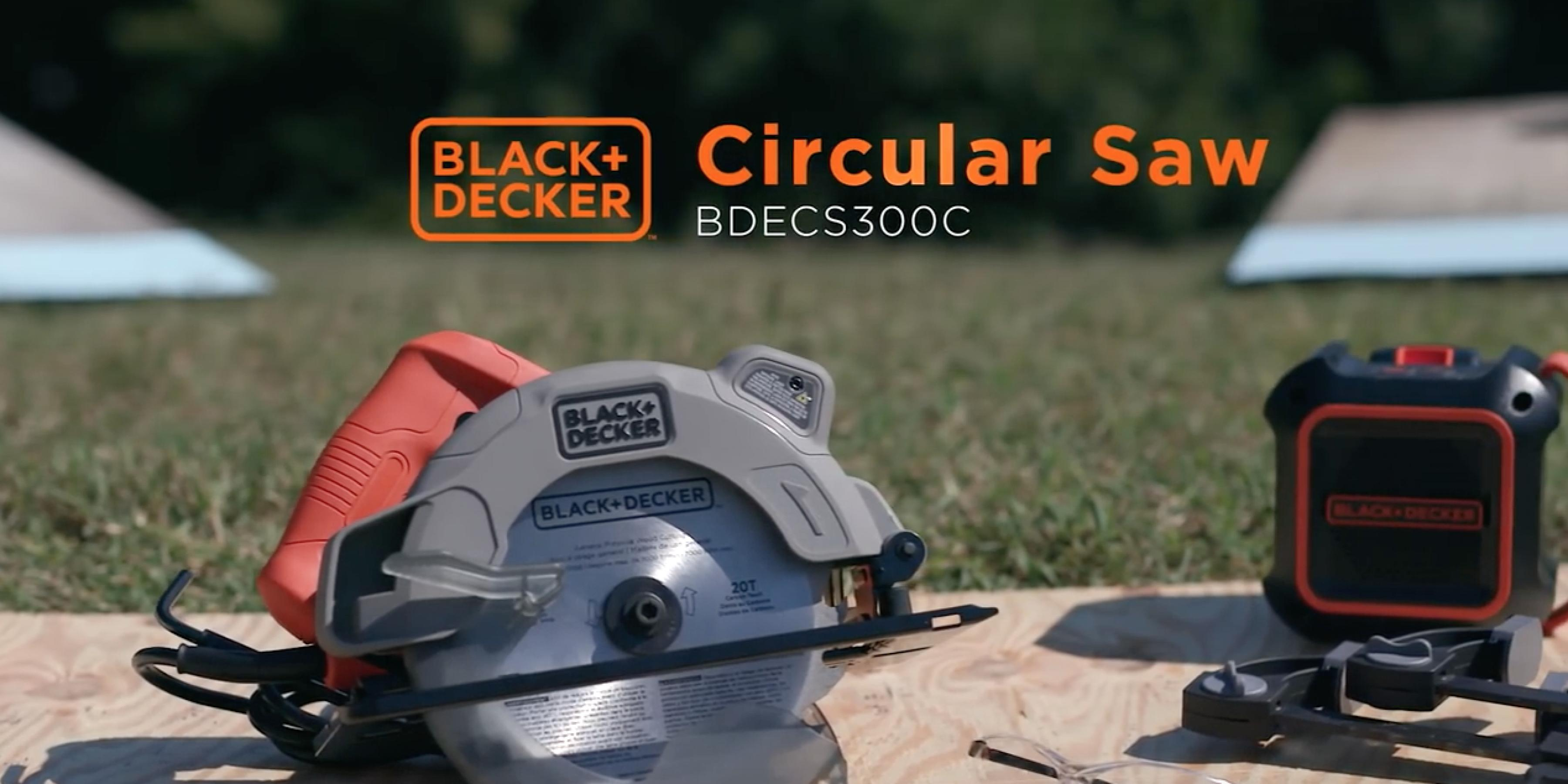 Introducing Our New Circular Saw with Laser Cut Line Guide