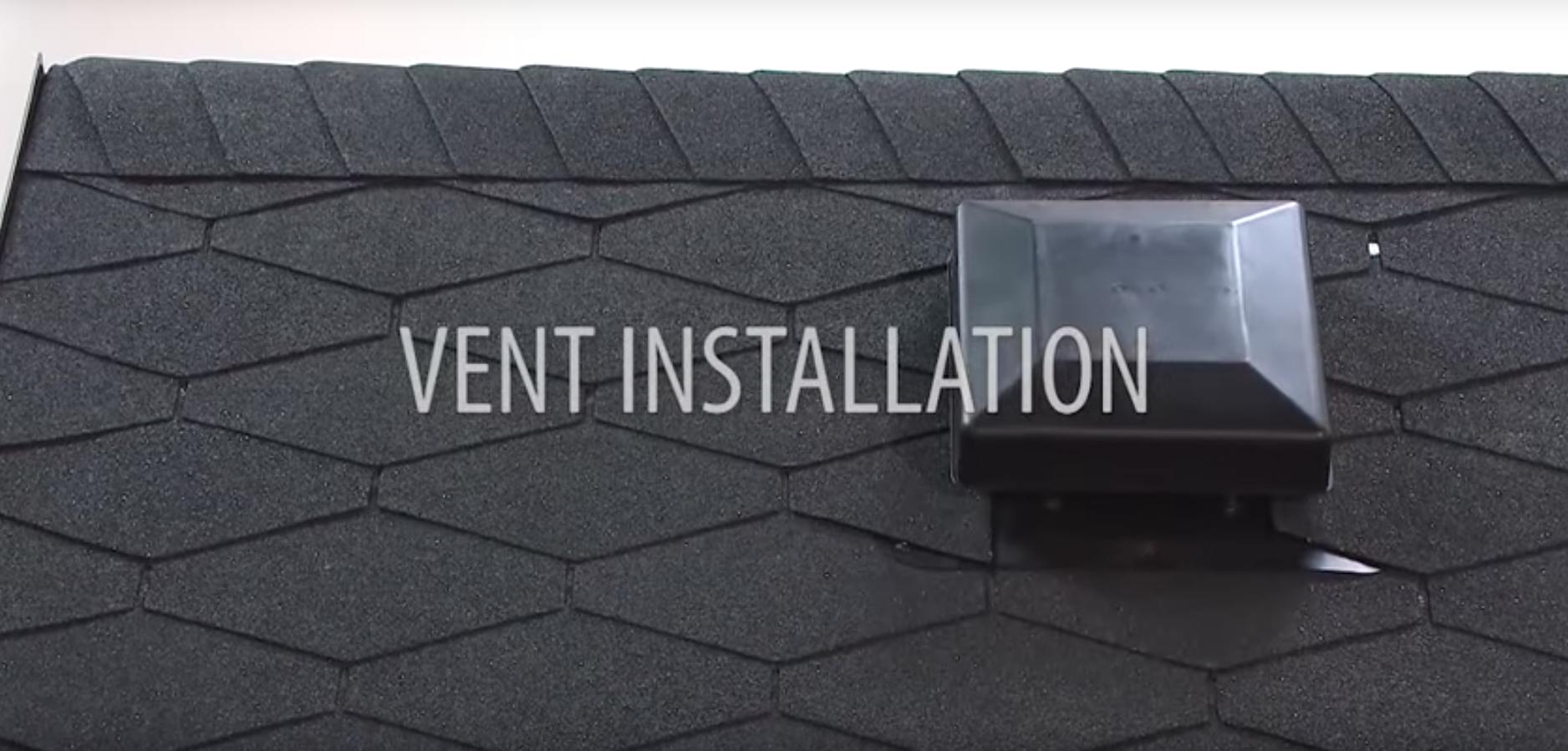 Installing Armourvent roof ventilation