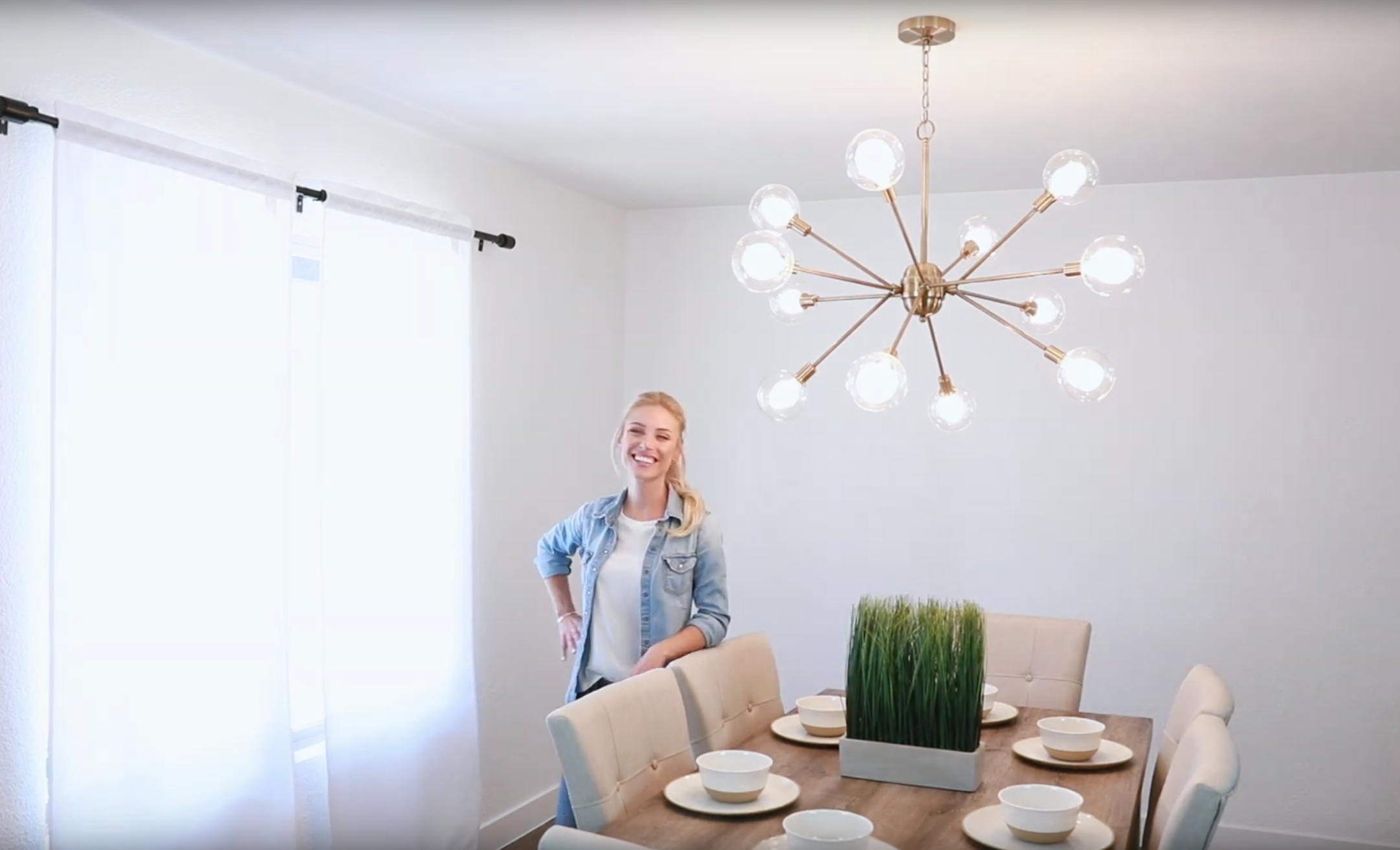 How to Install a Chain Link Chandelier