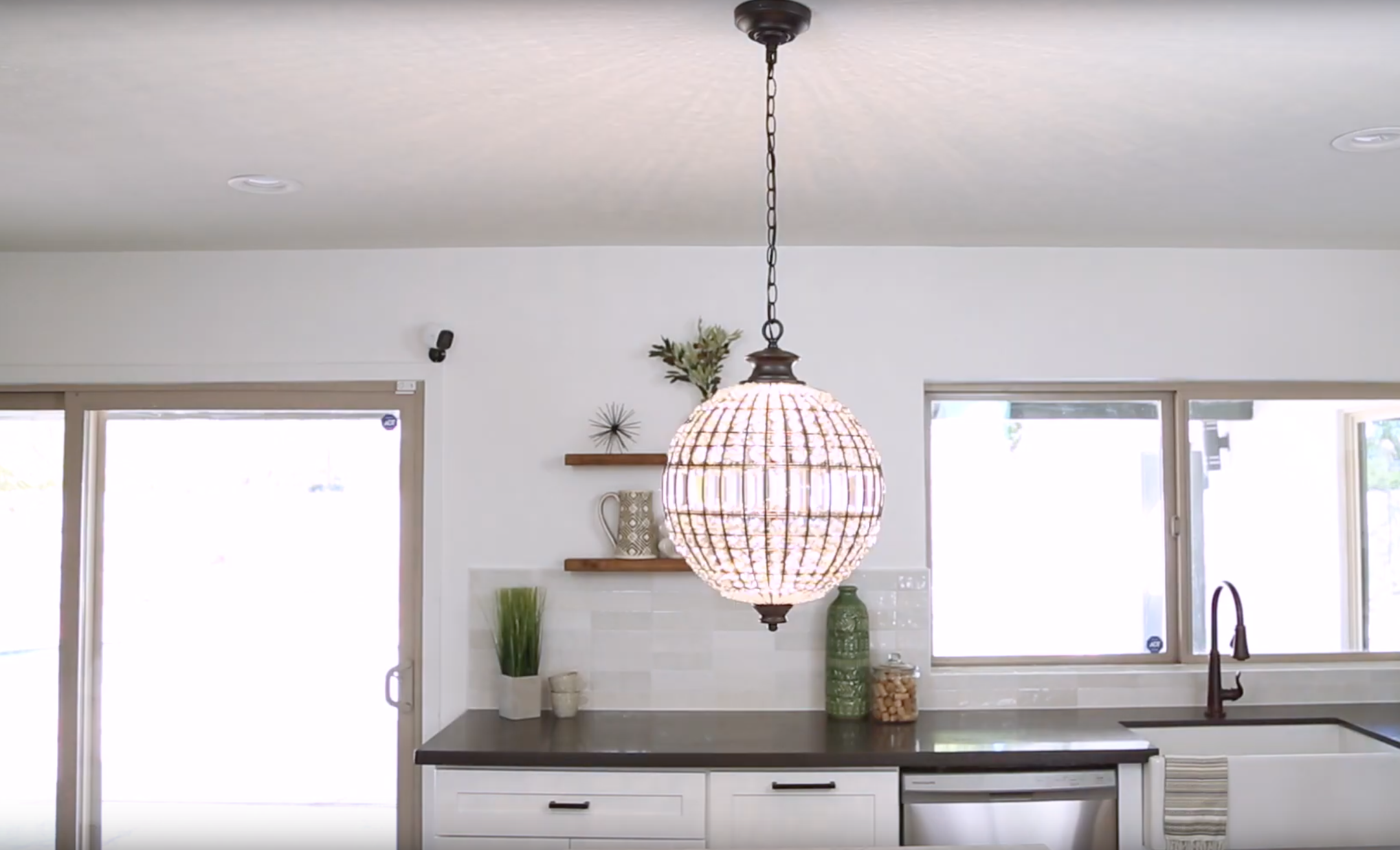 How to Install a Chain Link Pendant Light